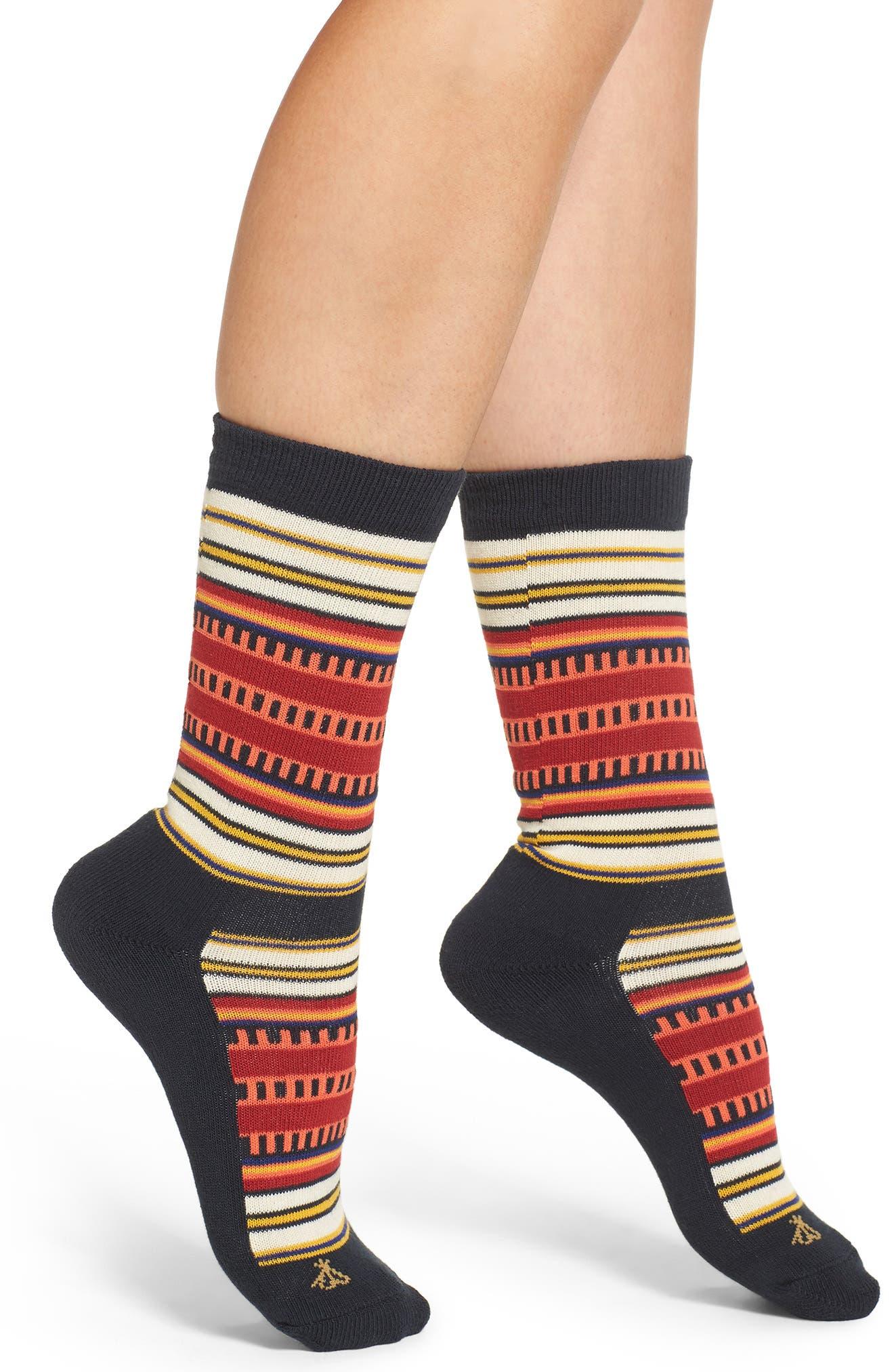 'National Park' Crew Socks,                         Main,                         color, 001