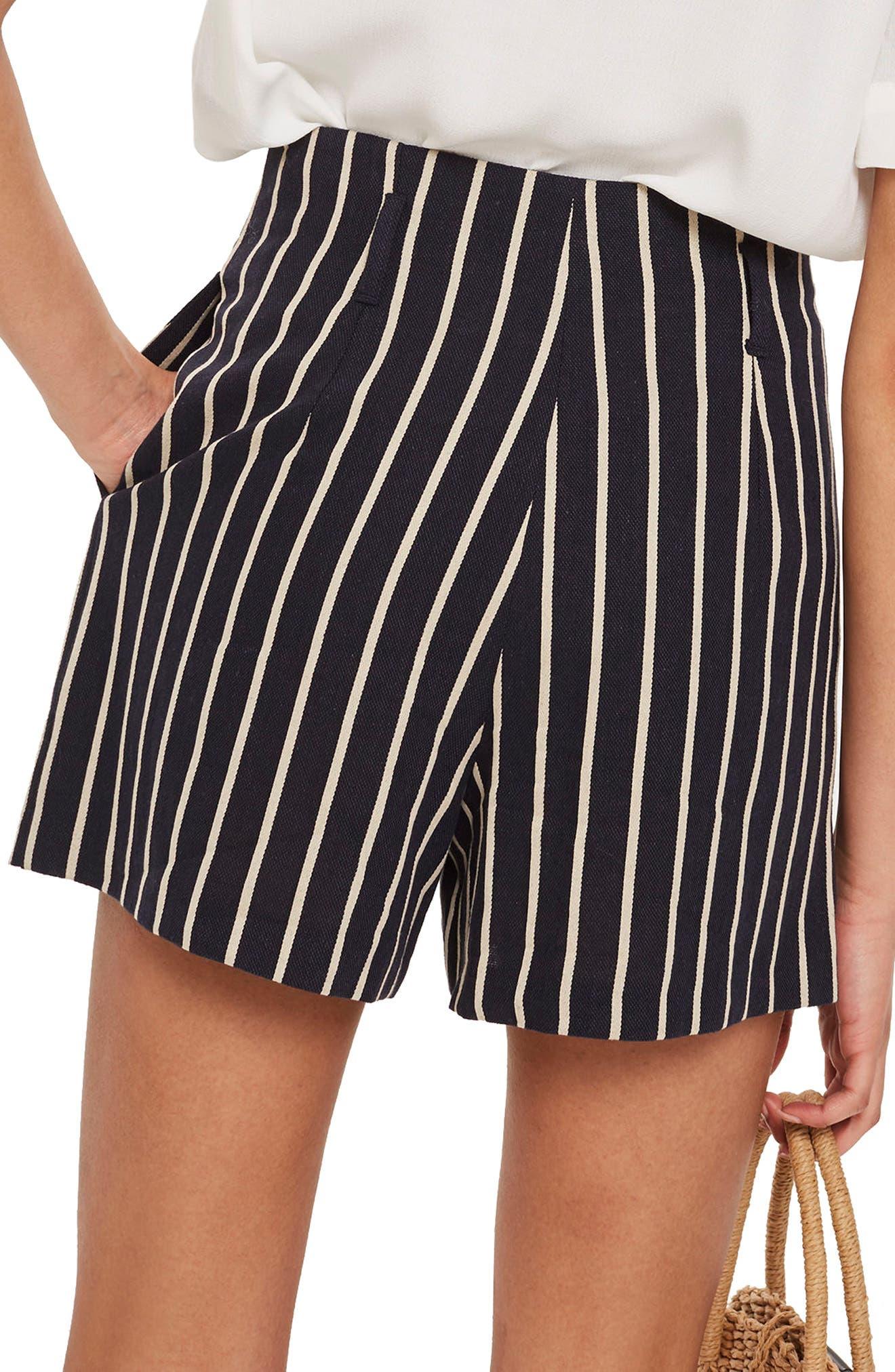 Stripe Shorts,                             Alternate thumbnail 2, color,                             411