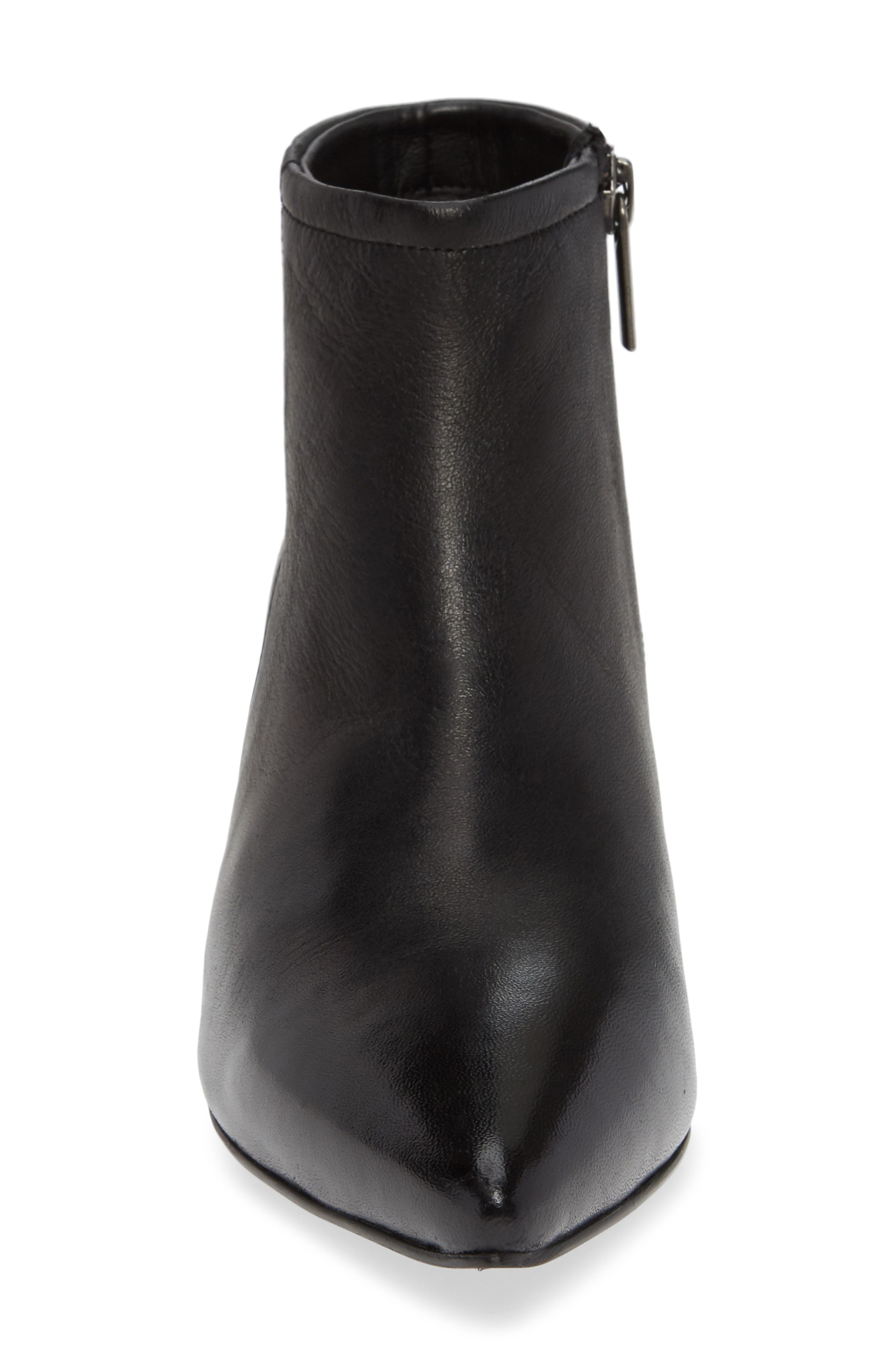 SEYCHELLES,                             Biome Bootie,                             Alternate thumbnail 4, color,                             BLACK LEATHER