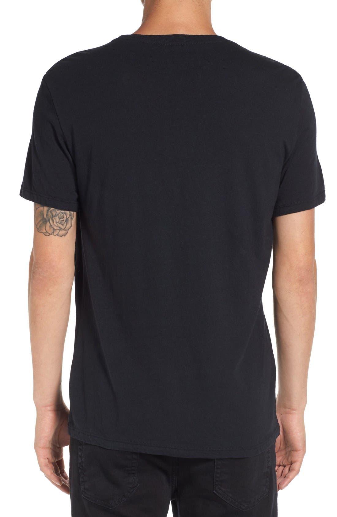 'Peace Flag' Graphic T-Shirt,                             Alternate thumbnail 6, color,                             001