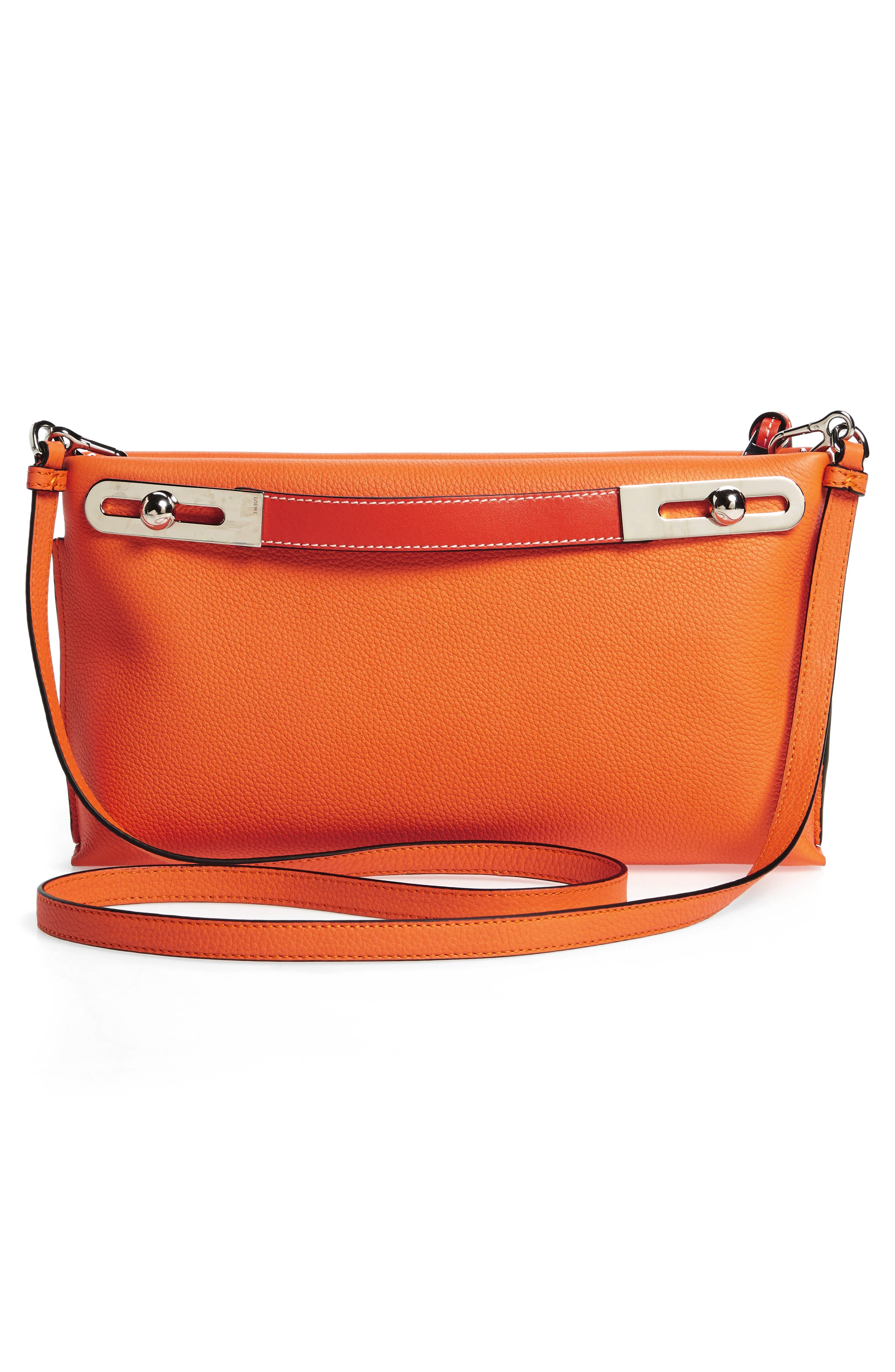 Small Missy Leather Crossbody Bag,                             Alternate thumbnail 4, color,