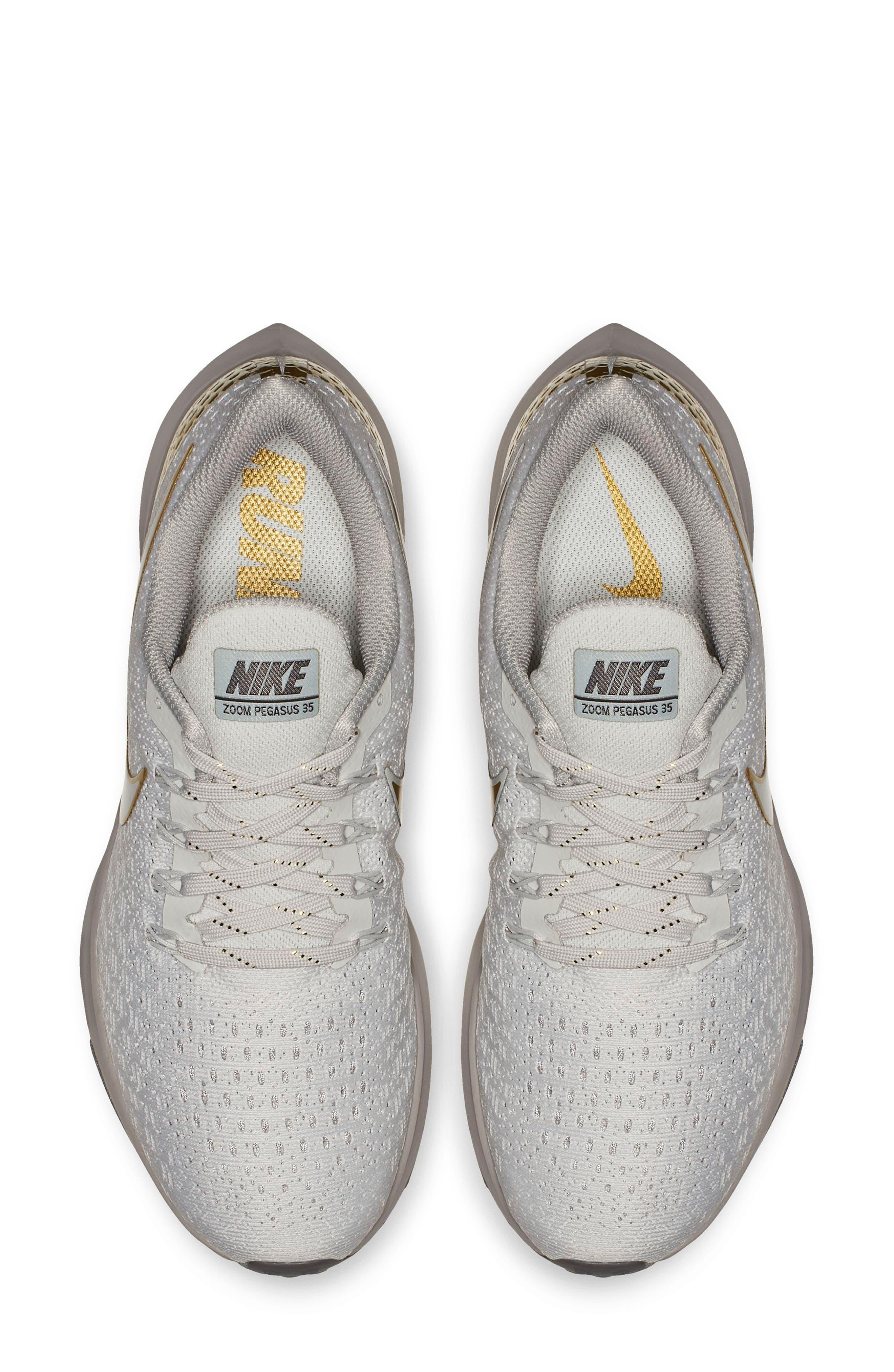 Air Zoom Pegasus 35 Premium Running Shoe,                             Alternate thumbnail 4, color,                             022