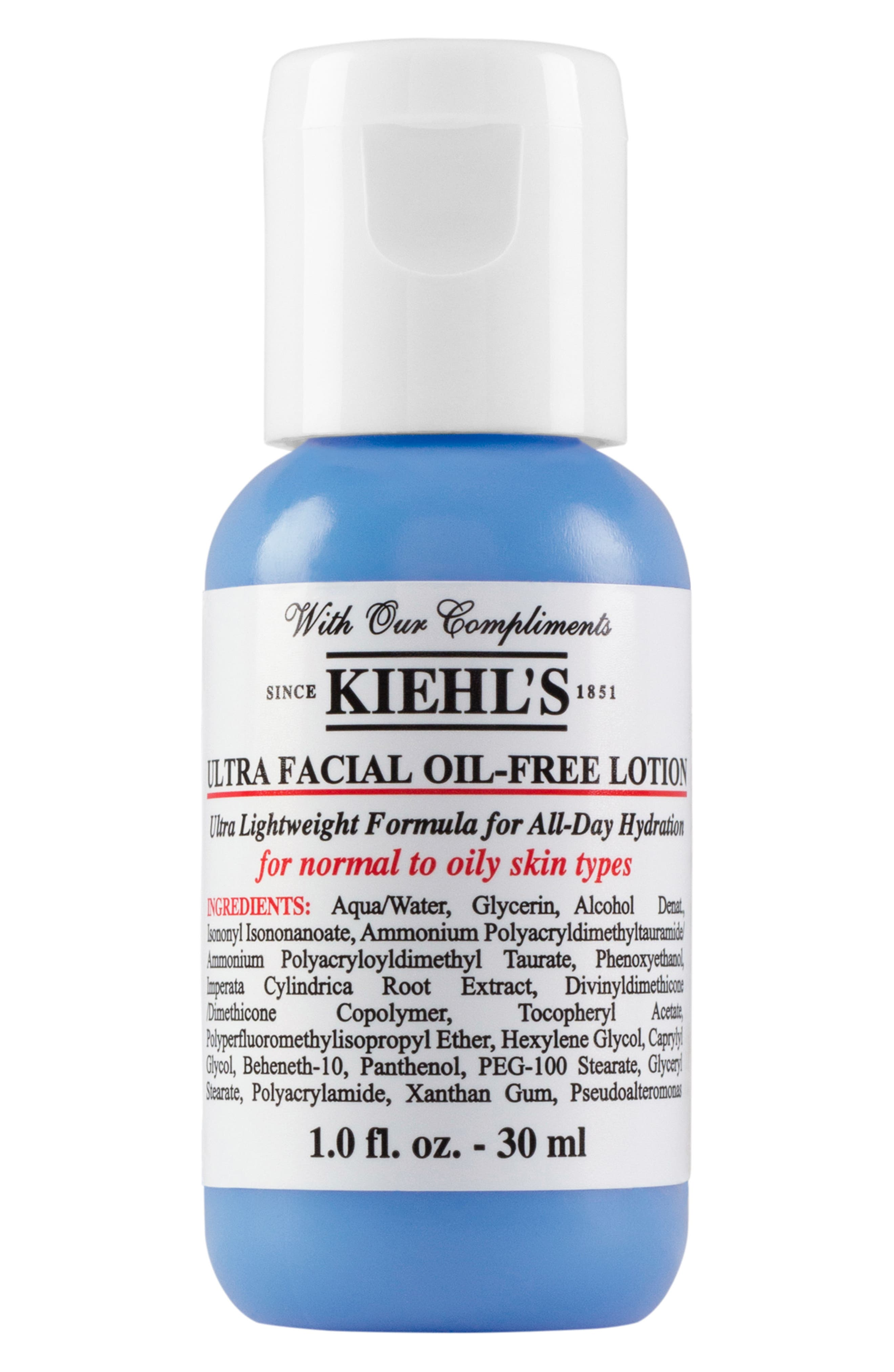 'Ultra Facial' Oil-Free Lotion,                             Alternate thumbnail 3, color,                             NO COLOR