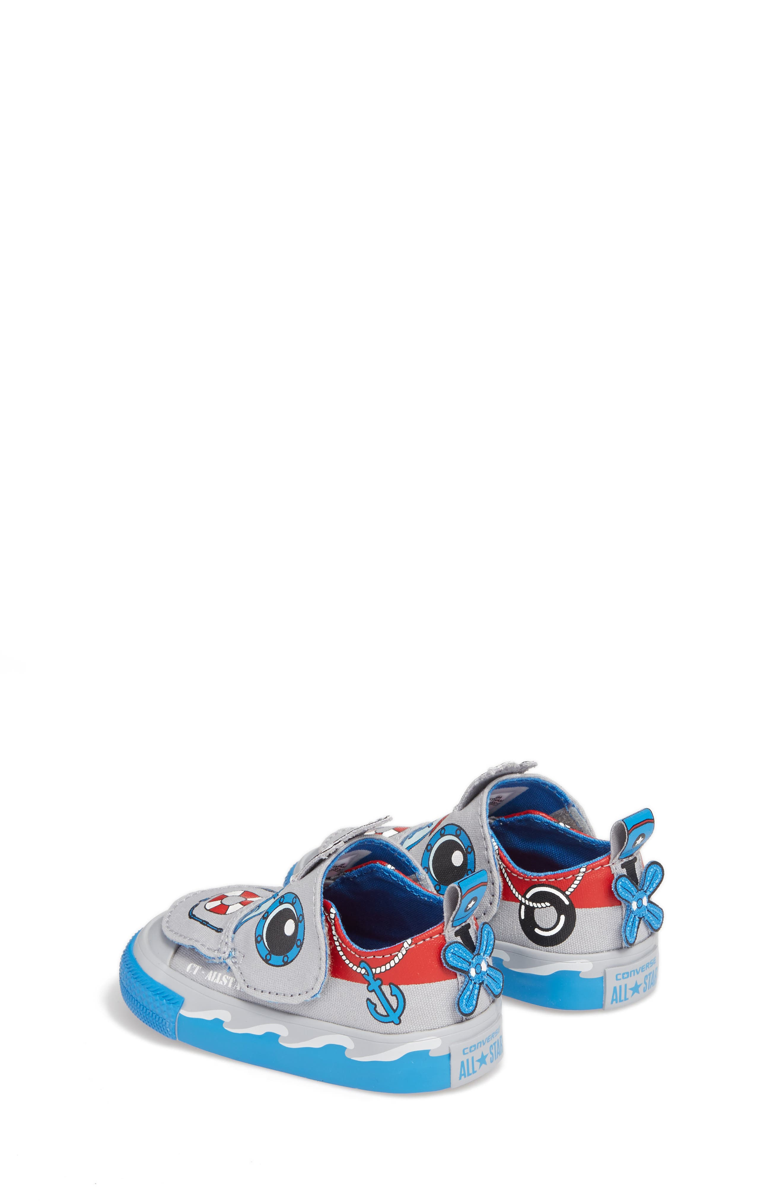 Chuck Taylor<sup>®</sup> All Star<sup>®</sup> Creatures Slip-On Sneaker,                             Alternate thumbnail 4, color,