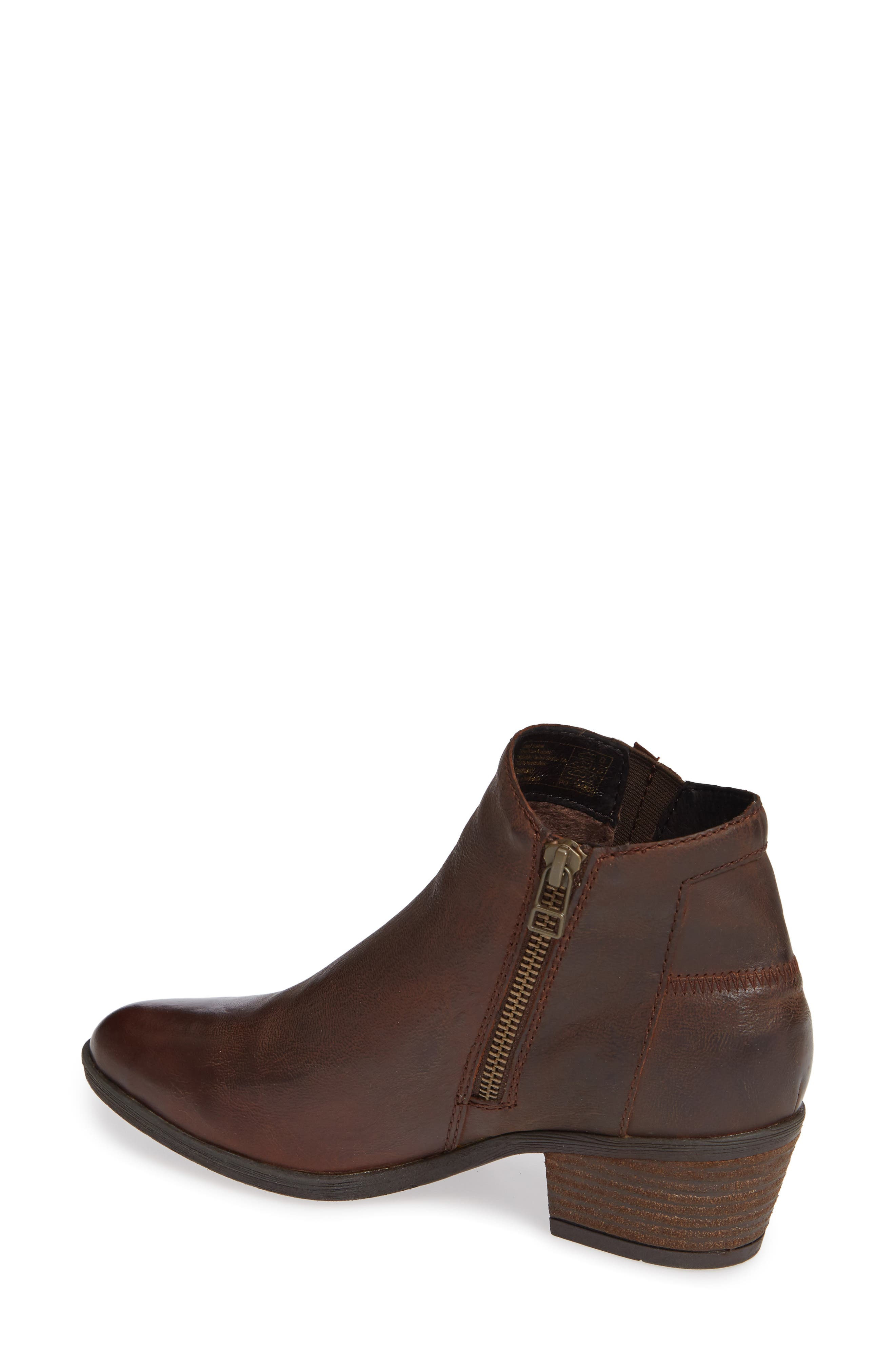 JOSEF SEIBEL,                             Daphne Bootie,                             Alternate thumbnail 2, color,                             MORO WASHED LEATHER