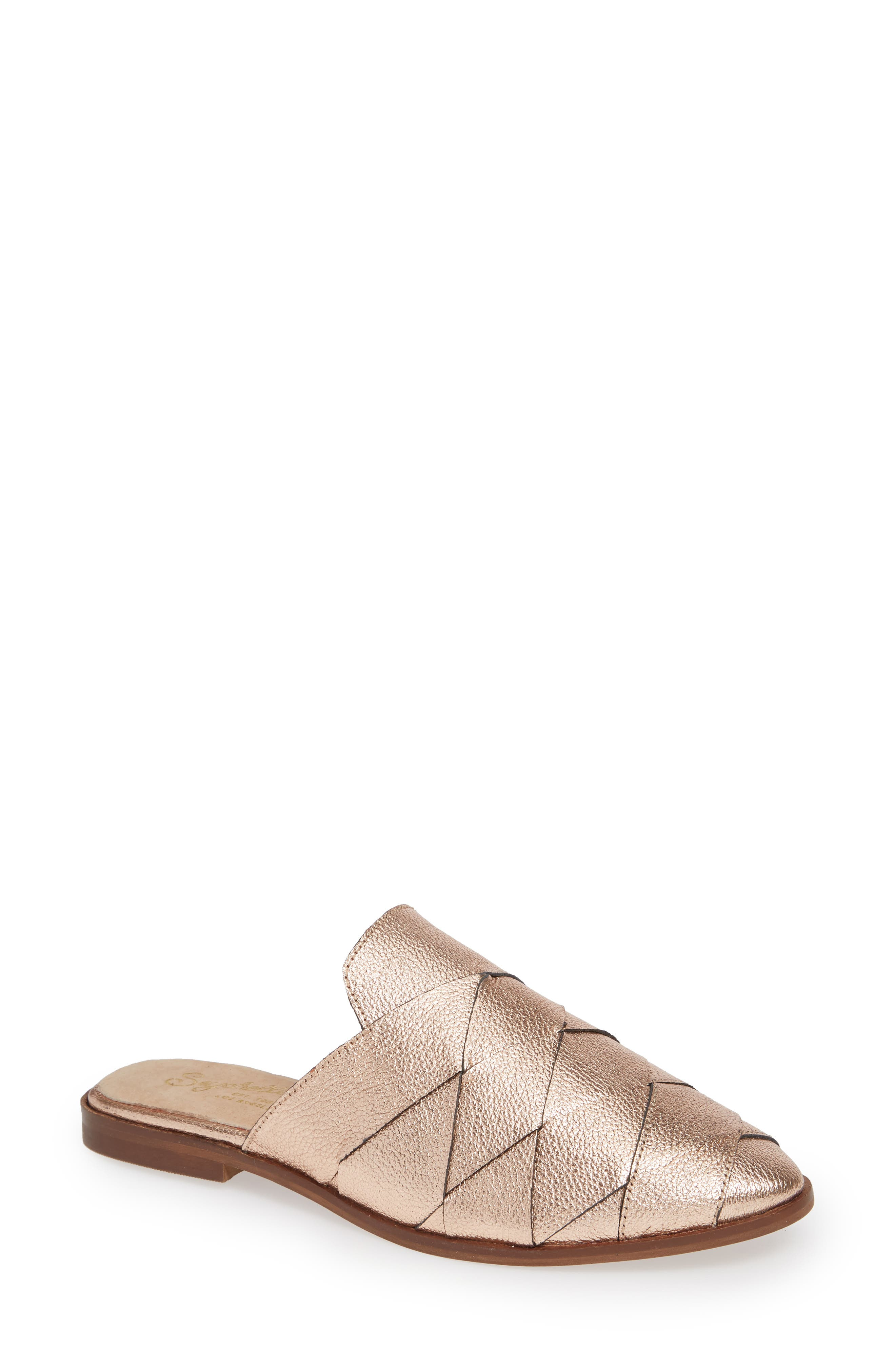 Survival II Mule,                         Main,                         color, ROSE GOLD LEATHER