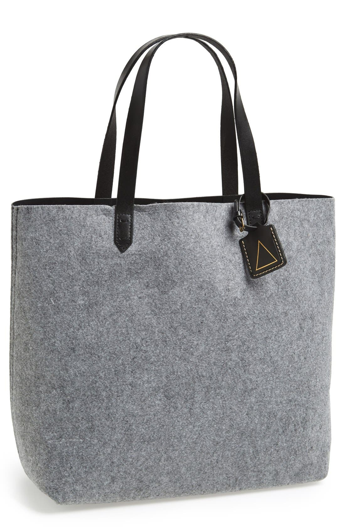 KELSI DAGGER BROOKLYN,                             'Commuter' Leather Tote,                             Main thumbnail 1, color,                             020