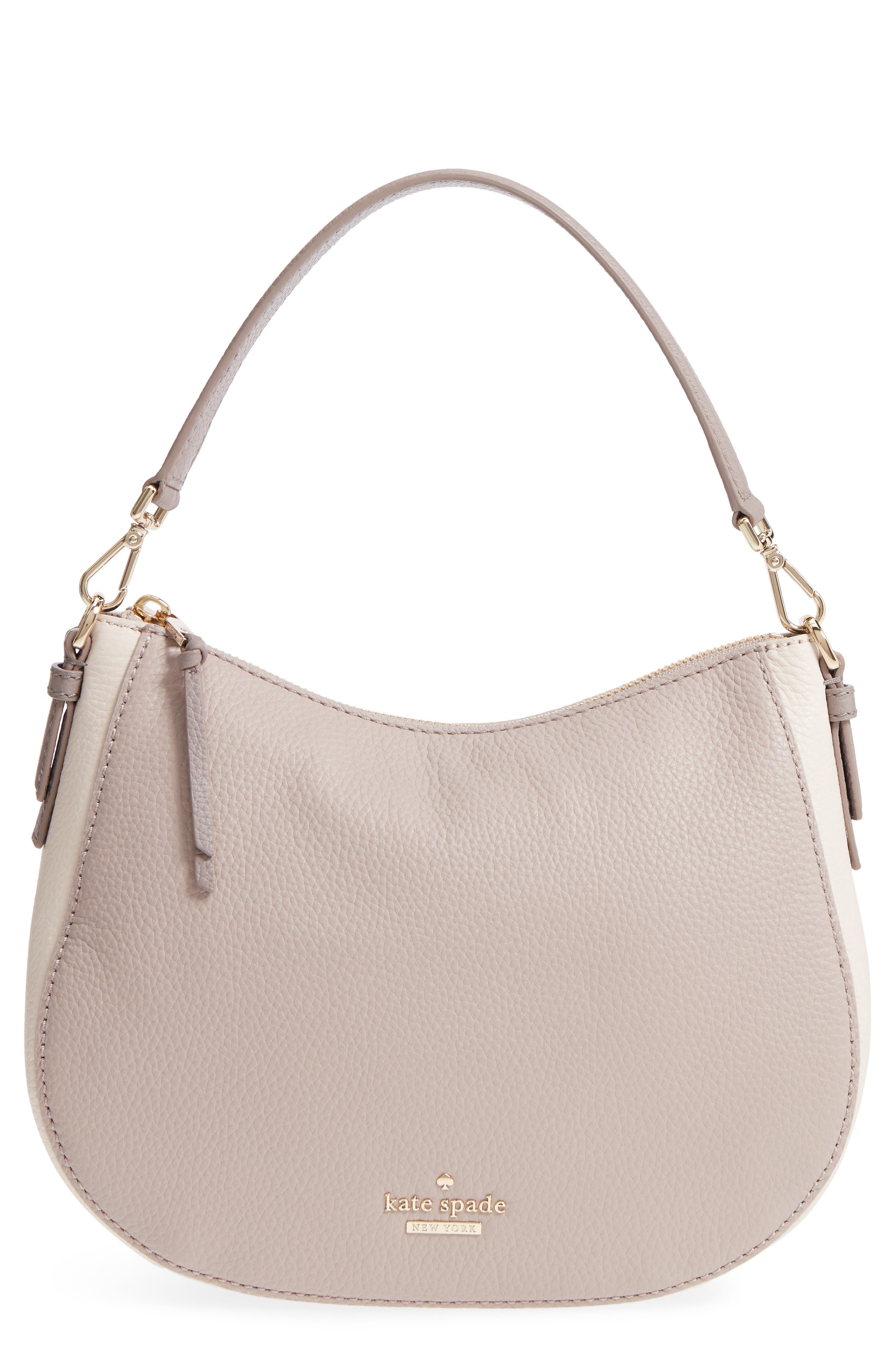 jackson street small mylie leather hobo,                         Main,                         color, 100