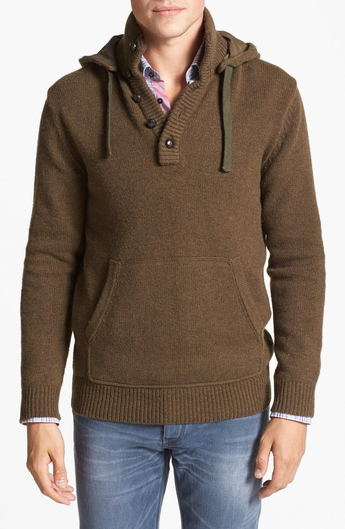 'Infantry' Wool Blend Sweater, Main, color, 341