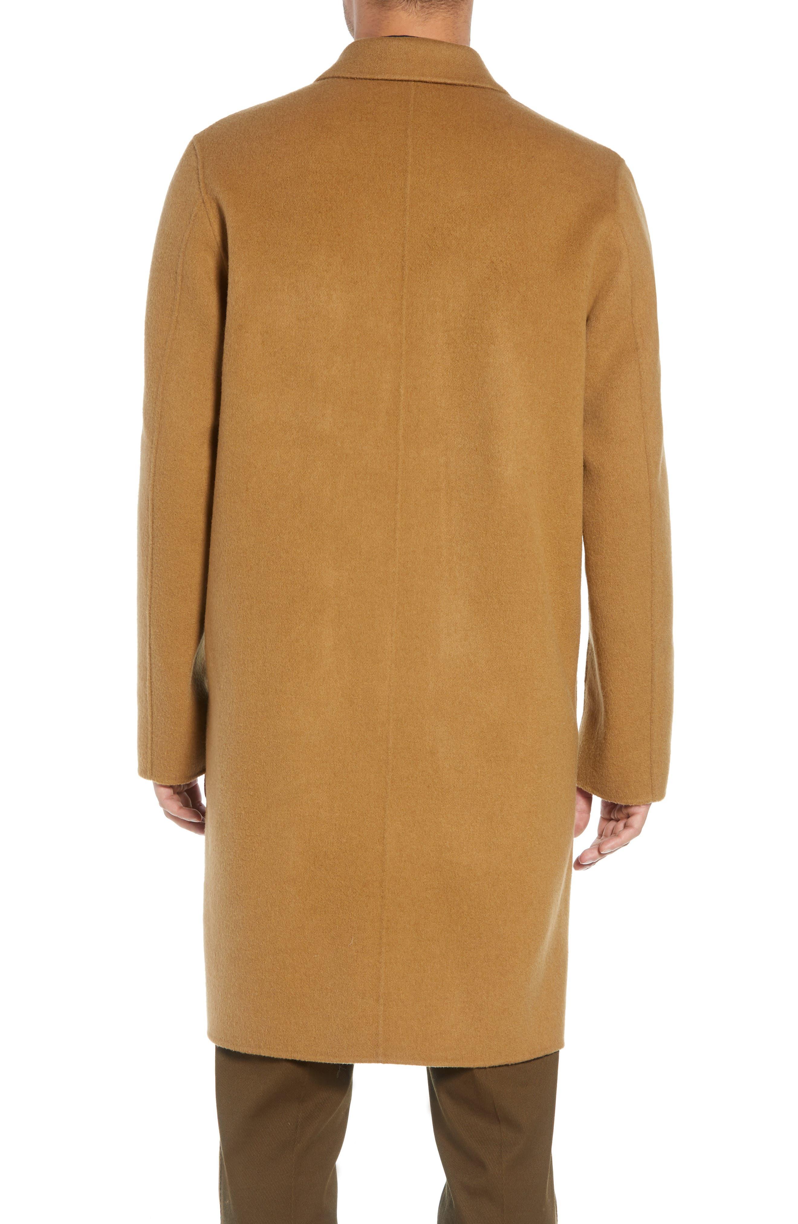 Wool Blend Car Coat,                             Alternate thumbnail 2, color,                             263