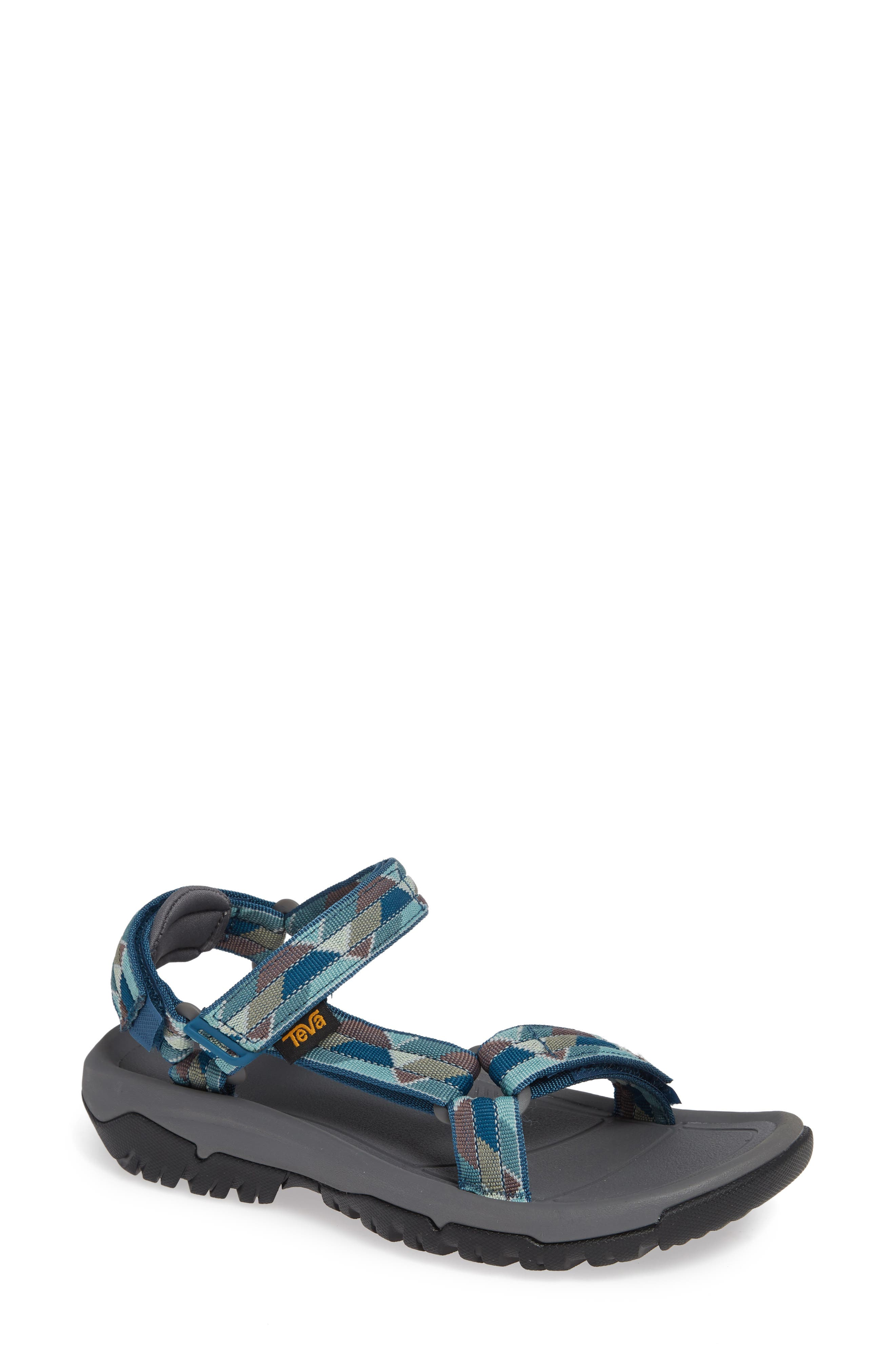 Hurricane XLT 2 Sandal,                         Main,                         color, BLUE FABRIC