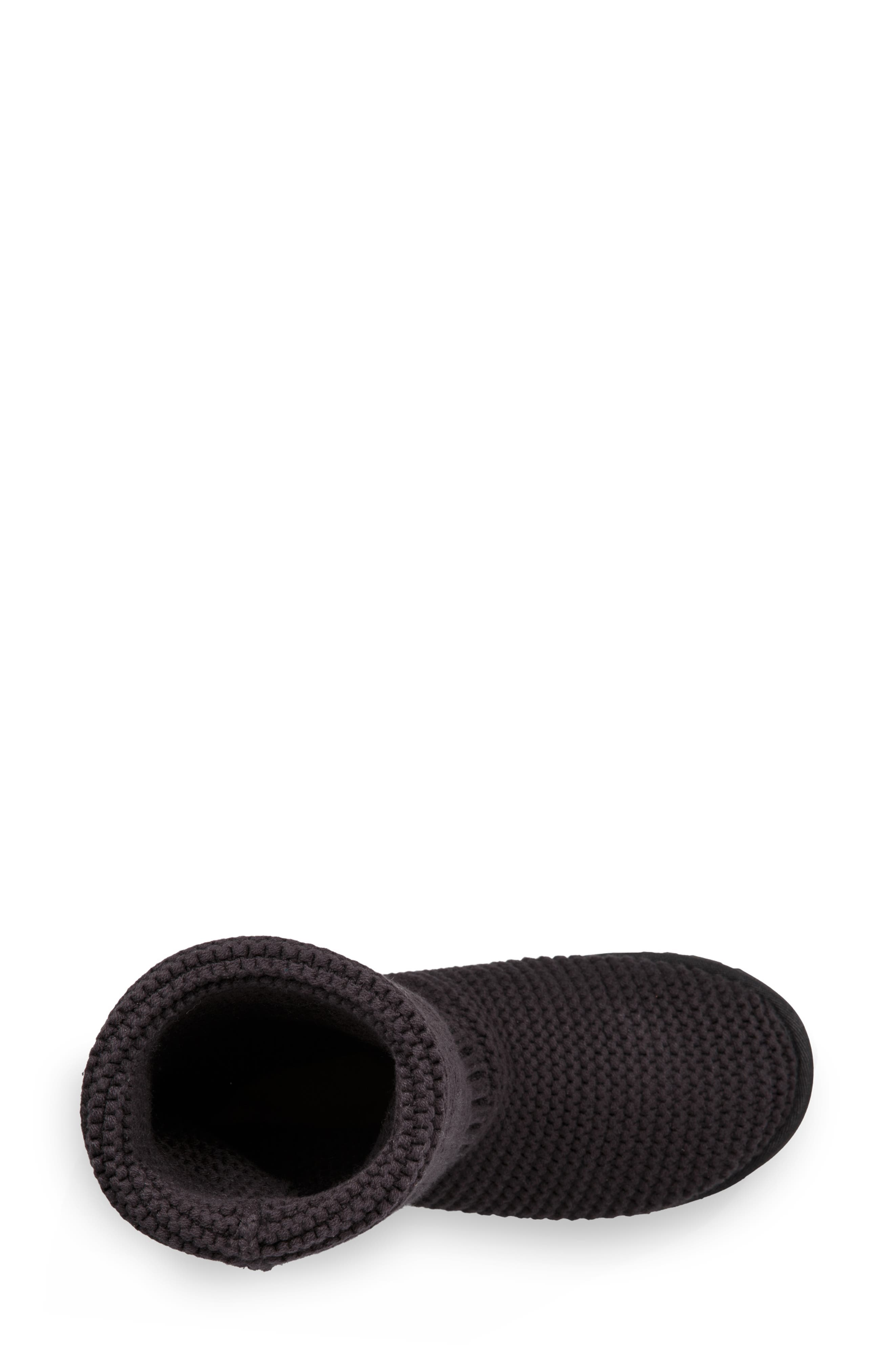 UGG<SUP>®</SUP>,                             Purl Cardy Knit Boot,                             Alternate thumbnail 10, color,                             001
