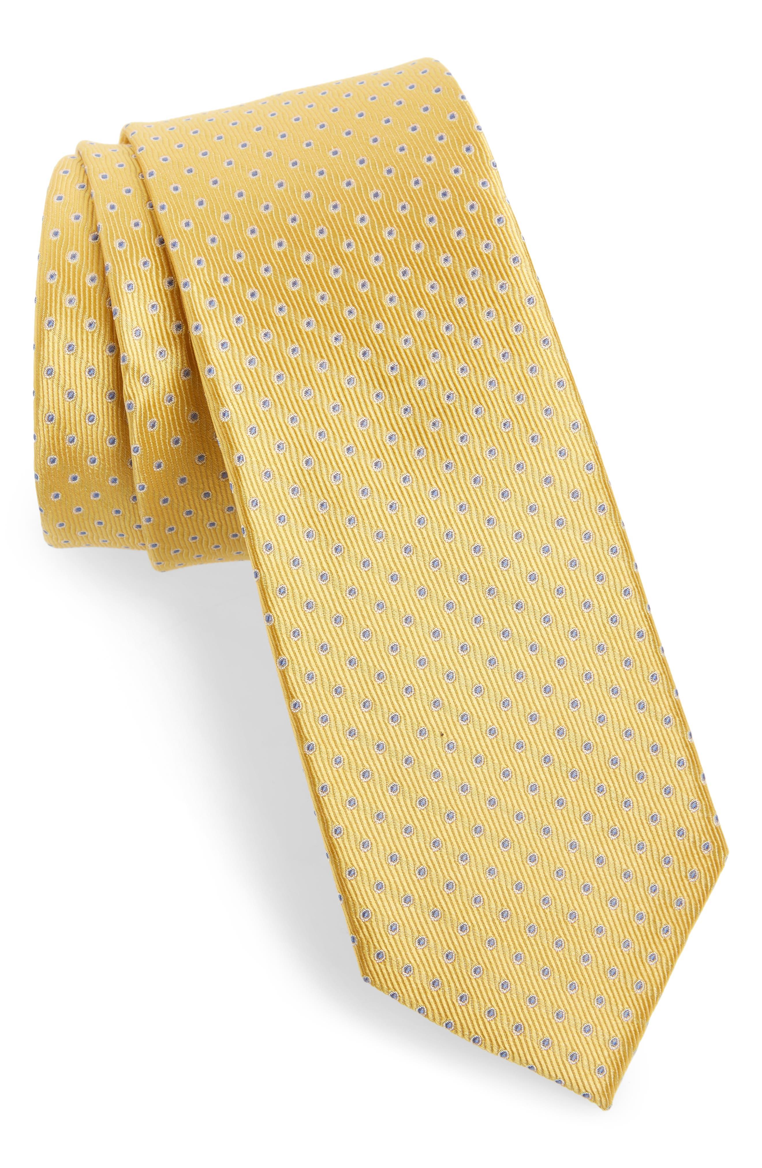 Newport Dot Silk Tie,                             Main thumbnail 8, color,