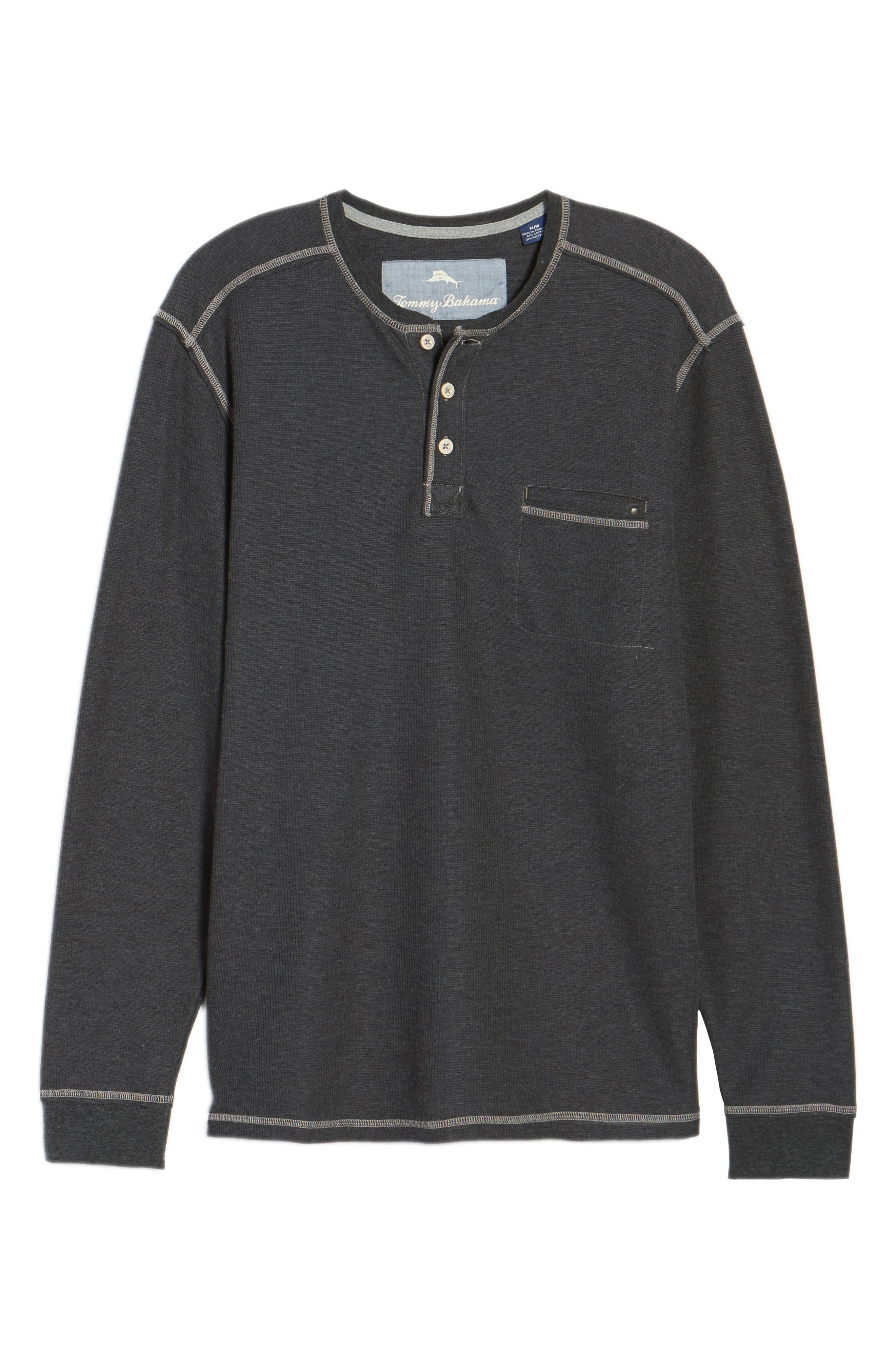 Island Thermal Henley,                             Alternate thumbnail 6, color,                             005