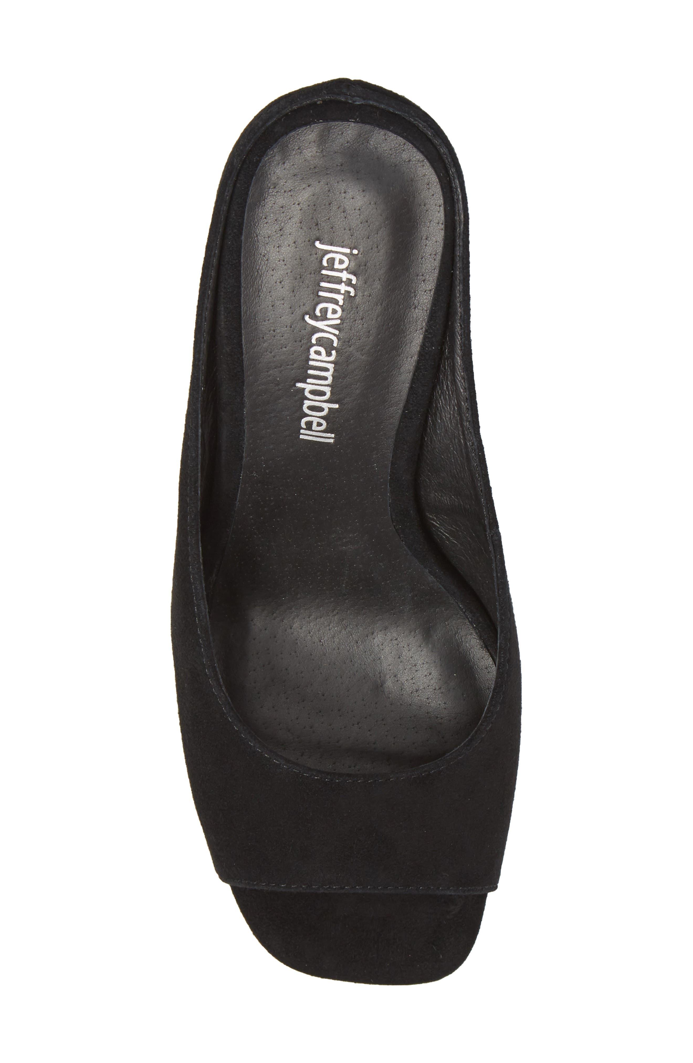 Generous Wedge Sandal,                             Alternate thumbnail 5, color,                             005