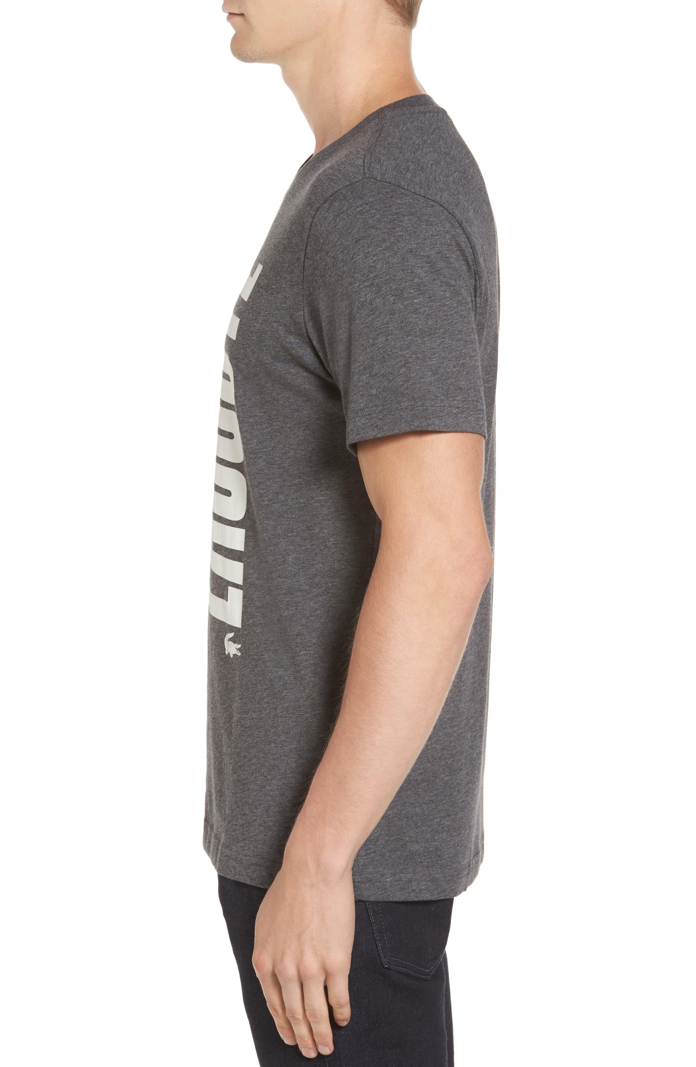 Vertical Graphic T-Shirt,                             Alternate thumbnail 3, color,                             001