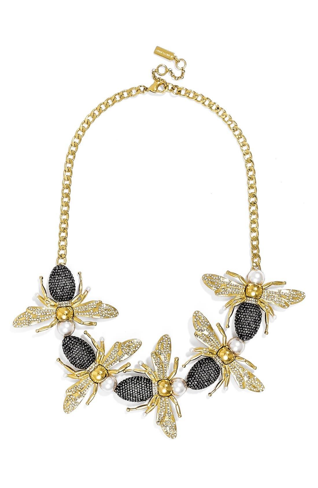 'Queen Bee' Collar Necklace,                             Main thumbnail 1, color,                             710