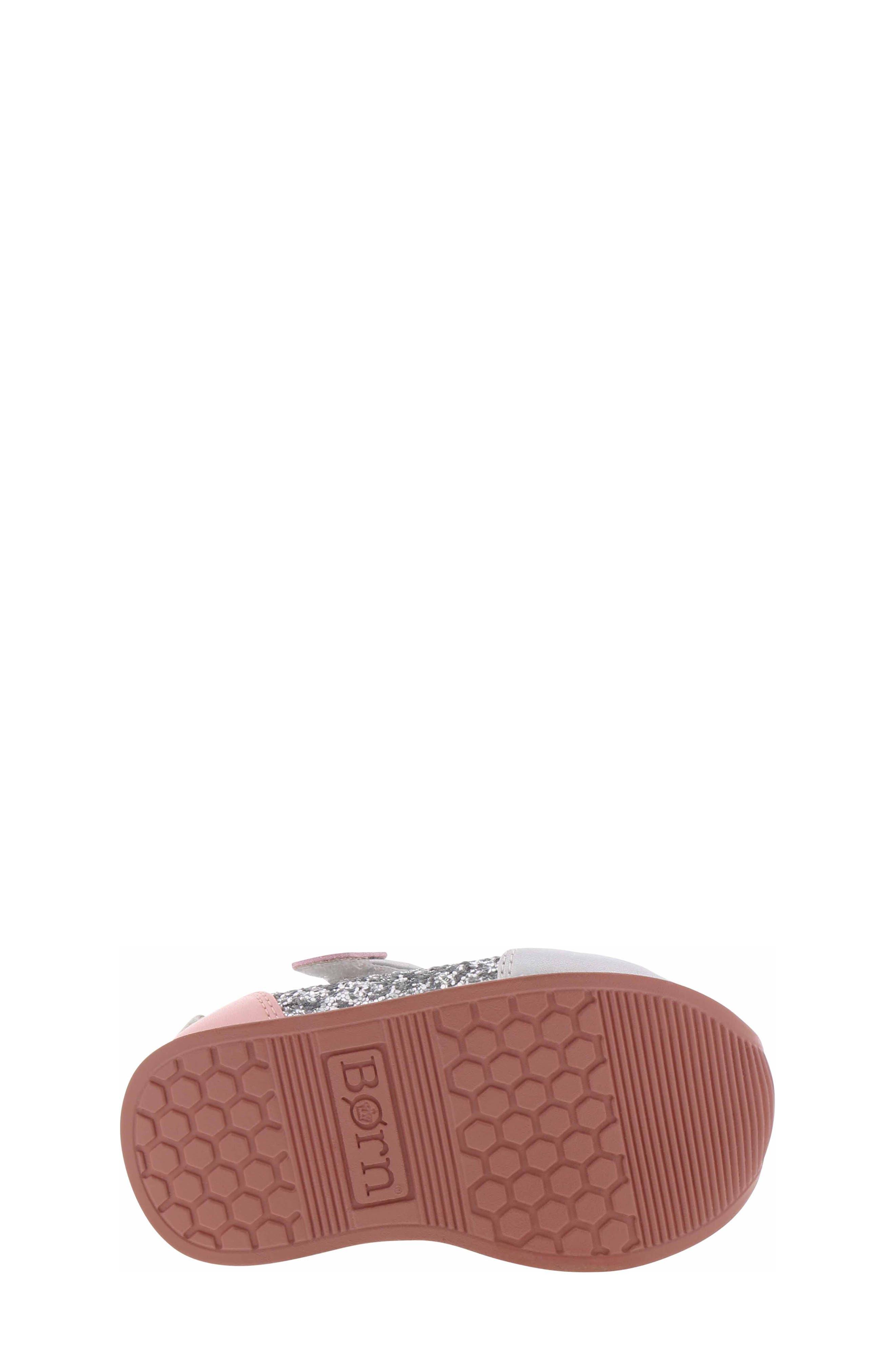 BØRN,                             Adyson Margyne Sparkle Sneaker,                             Alternate thumbnail 6, color,                             SILVER PINK