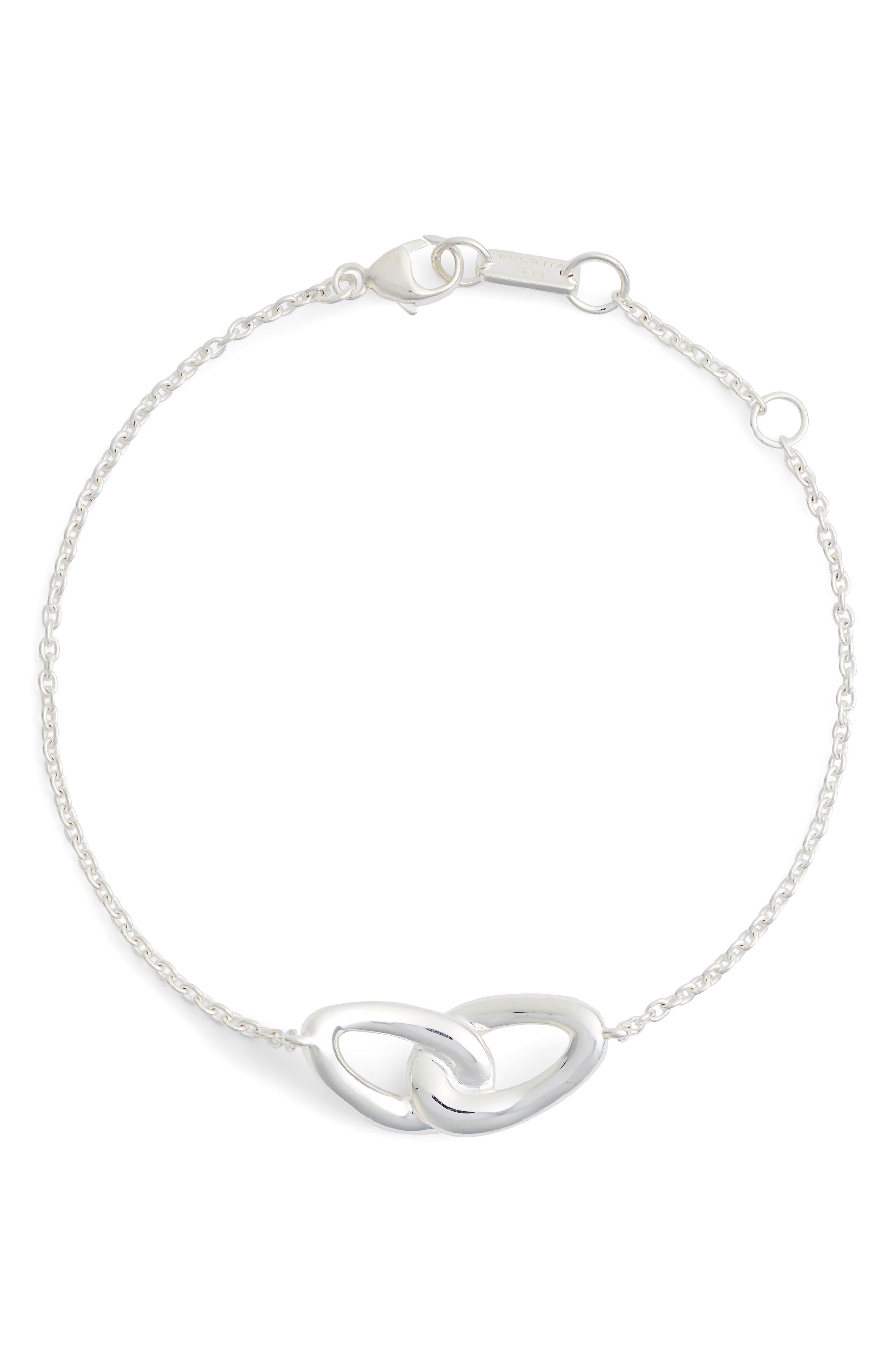 Diamond Bracelet,                             Alternate thumbnail 3, color,                             SILVER