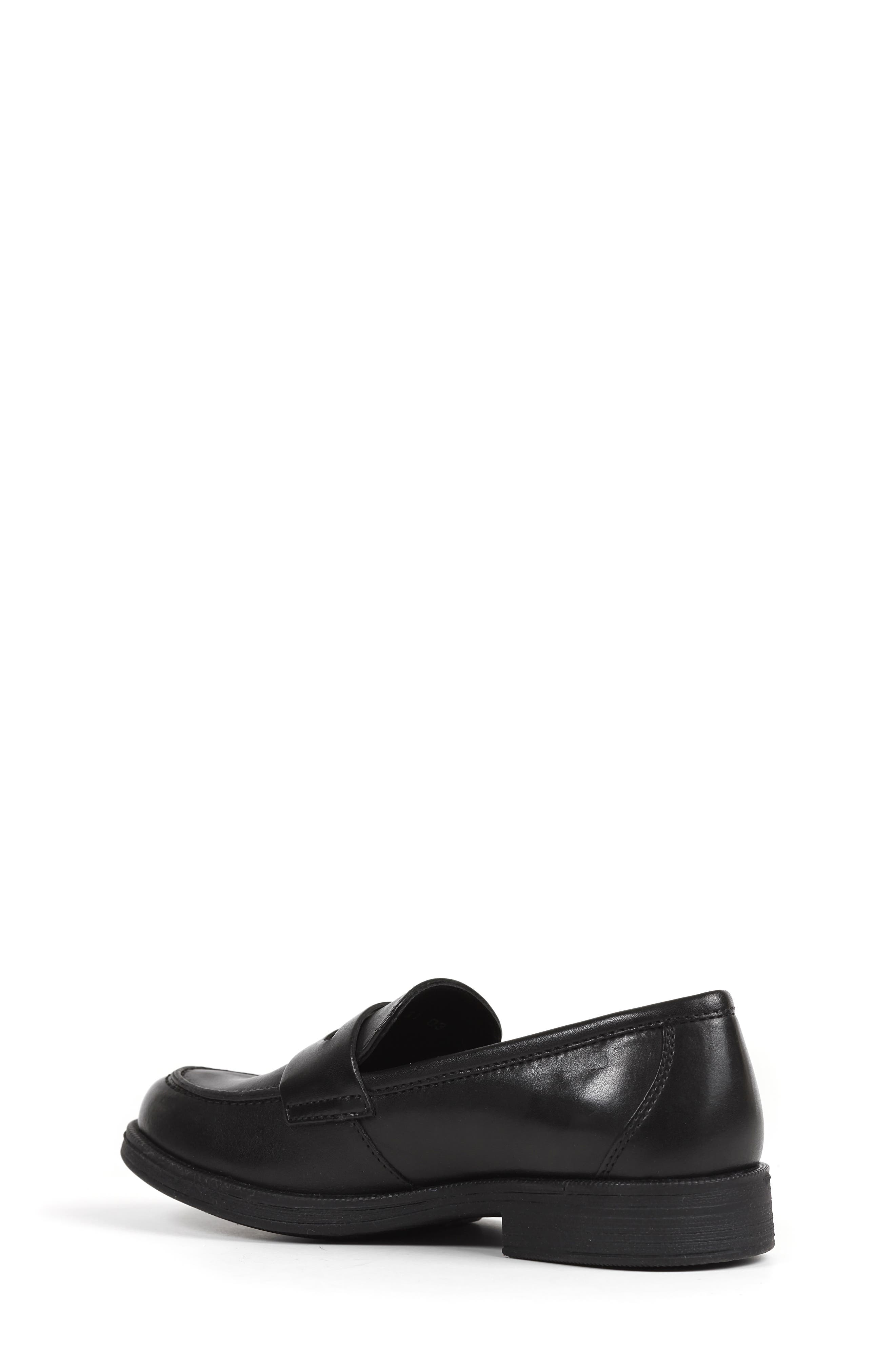Agata 1 Penny Loafer,                             Alternate thumbnail 2, color,                             BLACK