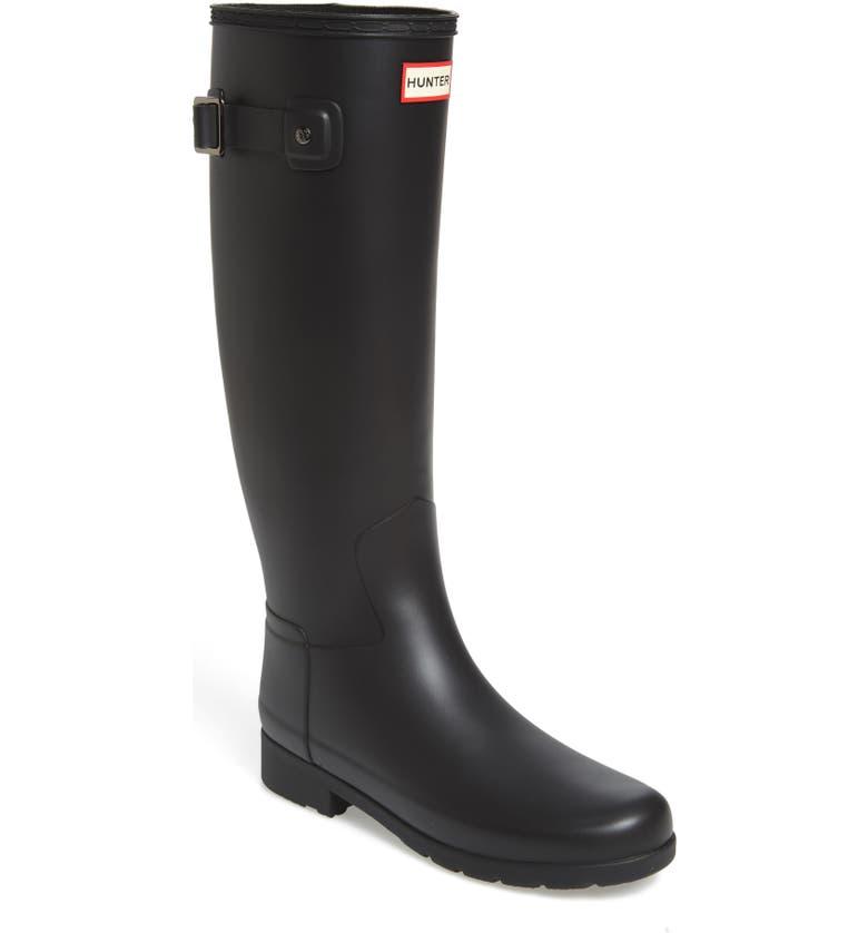 Places to buy  Hunter Original Refined Waterproof Rain Boot (Women) (Regular & Narrow Calf) Great price