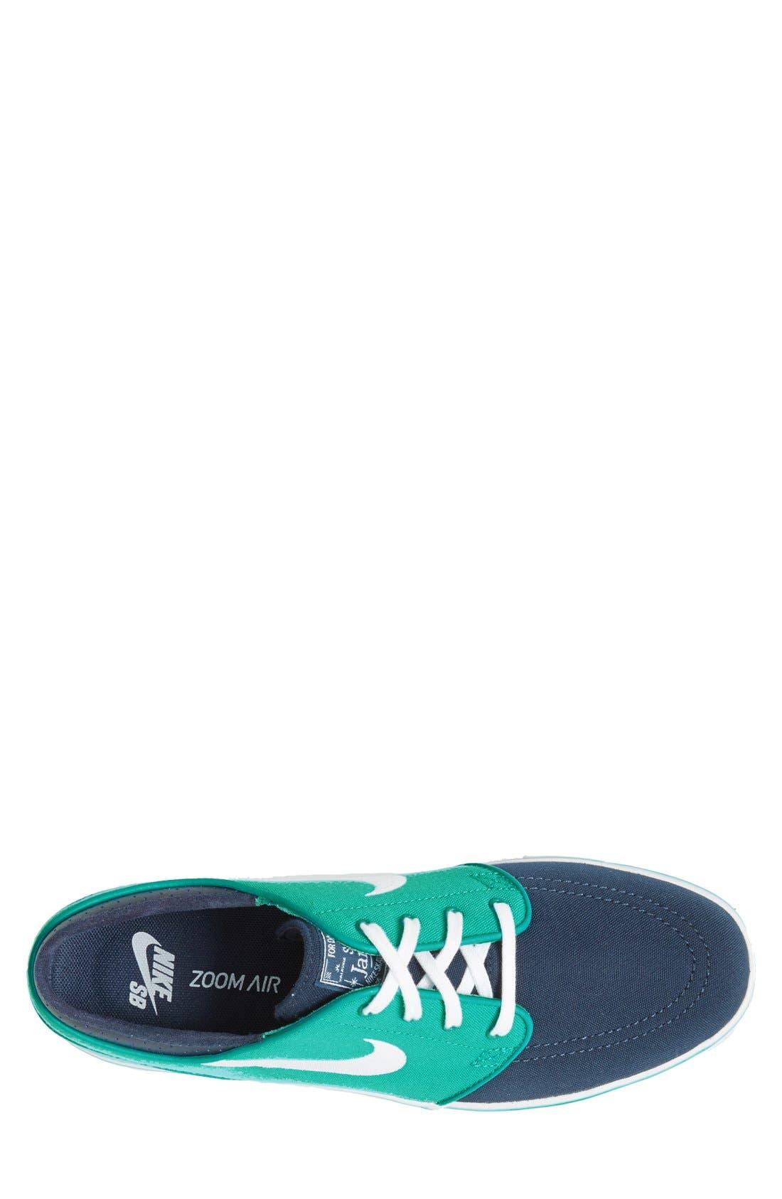 Zoom - Stefan Janoski SB Canvas Skate Shoe,                             Alternate thumbnail 115, color,