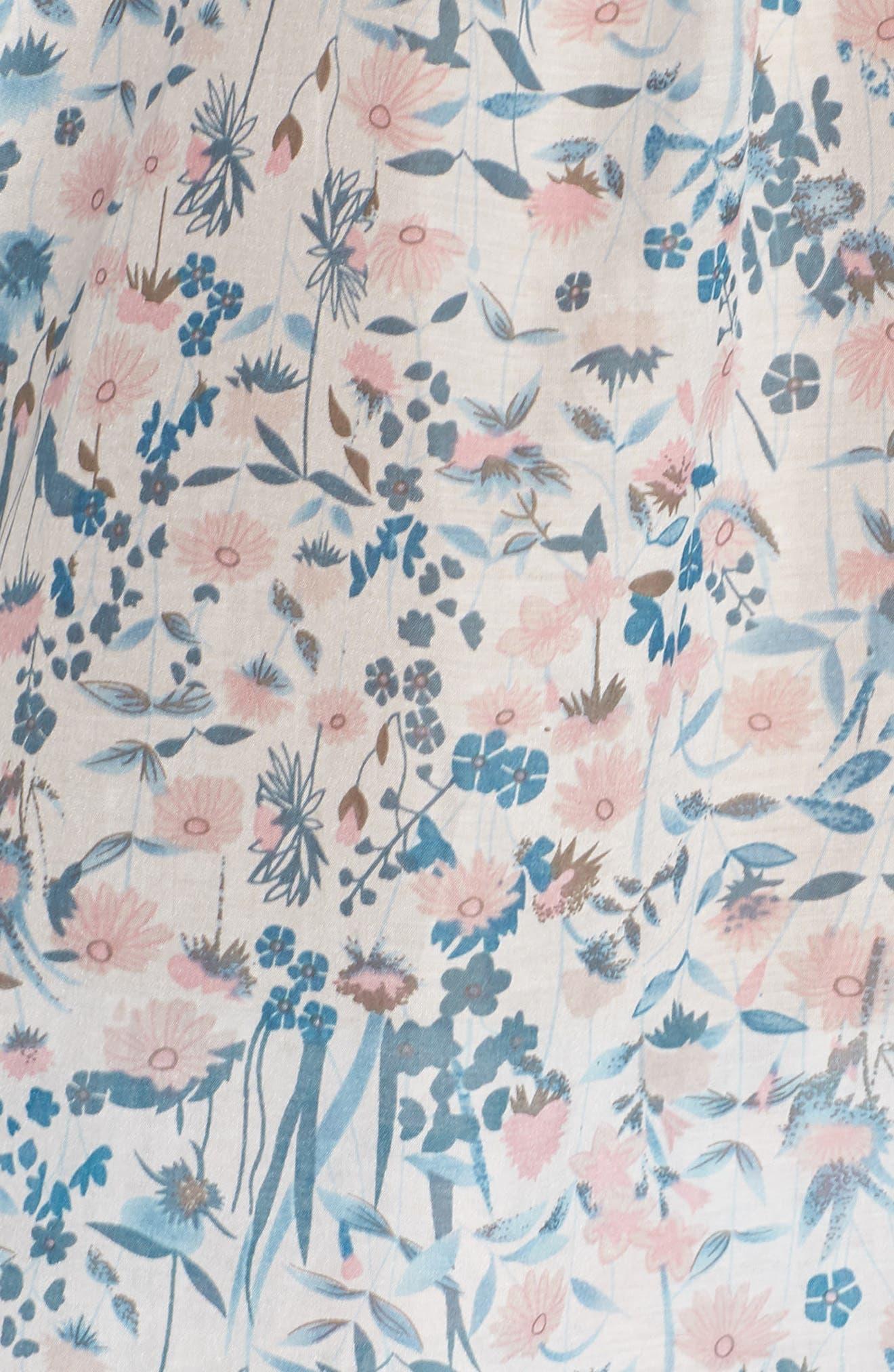 Ellie Short Pajamas,                             Alternate thumbnail 5, color,                             BLUE