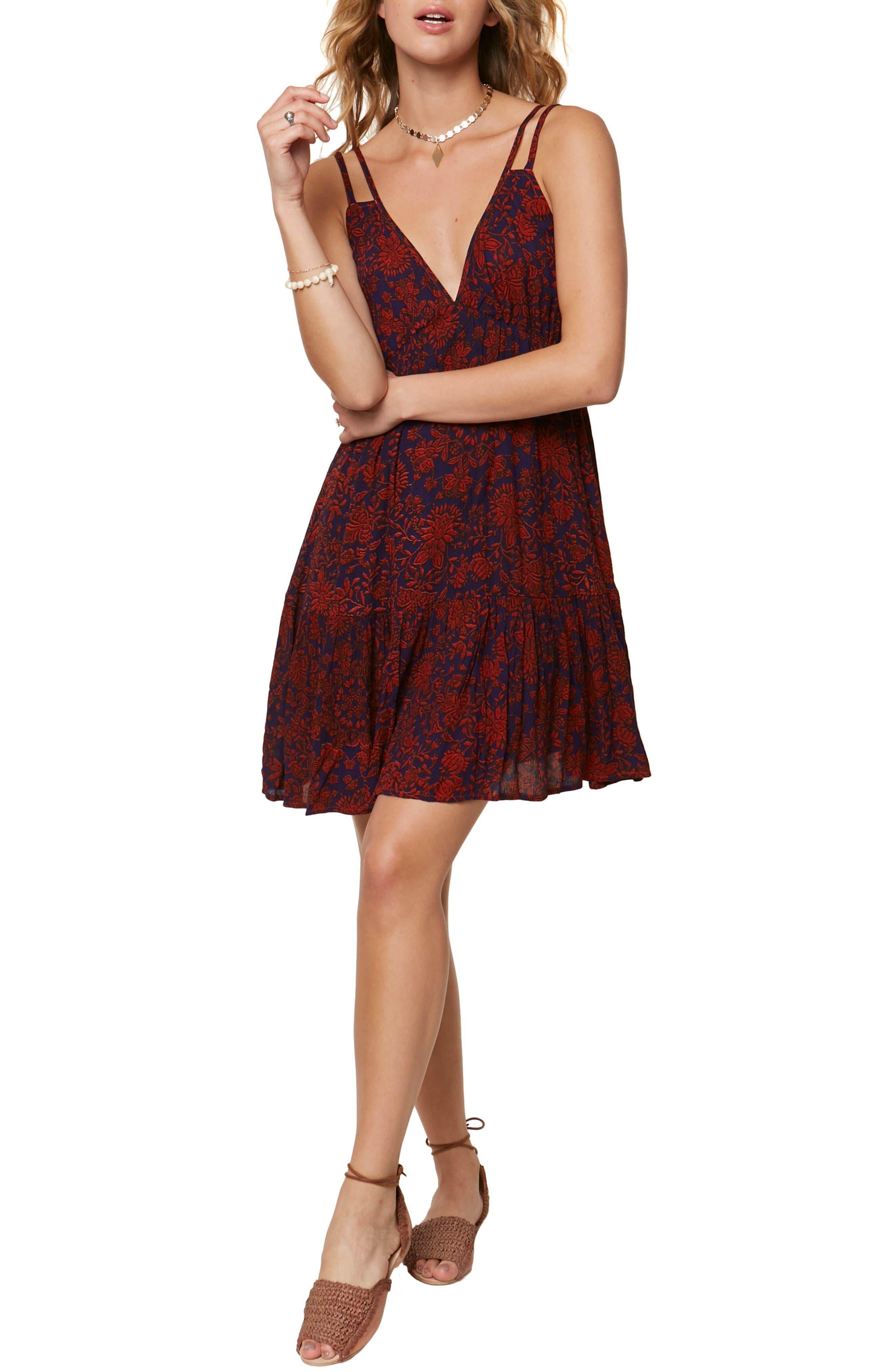 Harrison Strappy Minidress,                         Main,                         color, 600