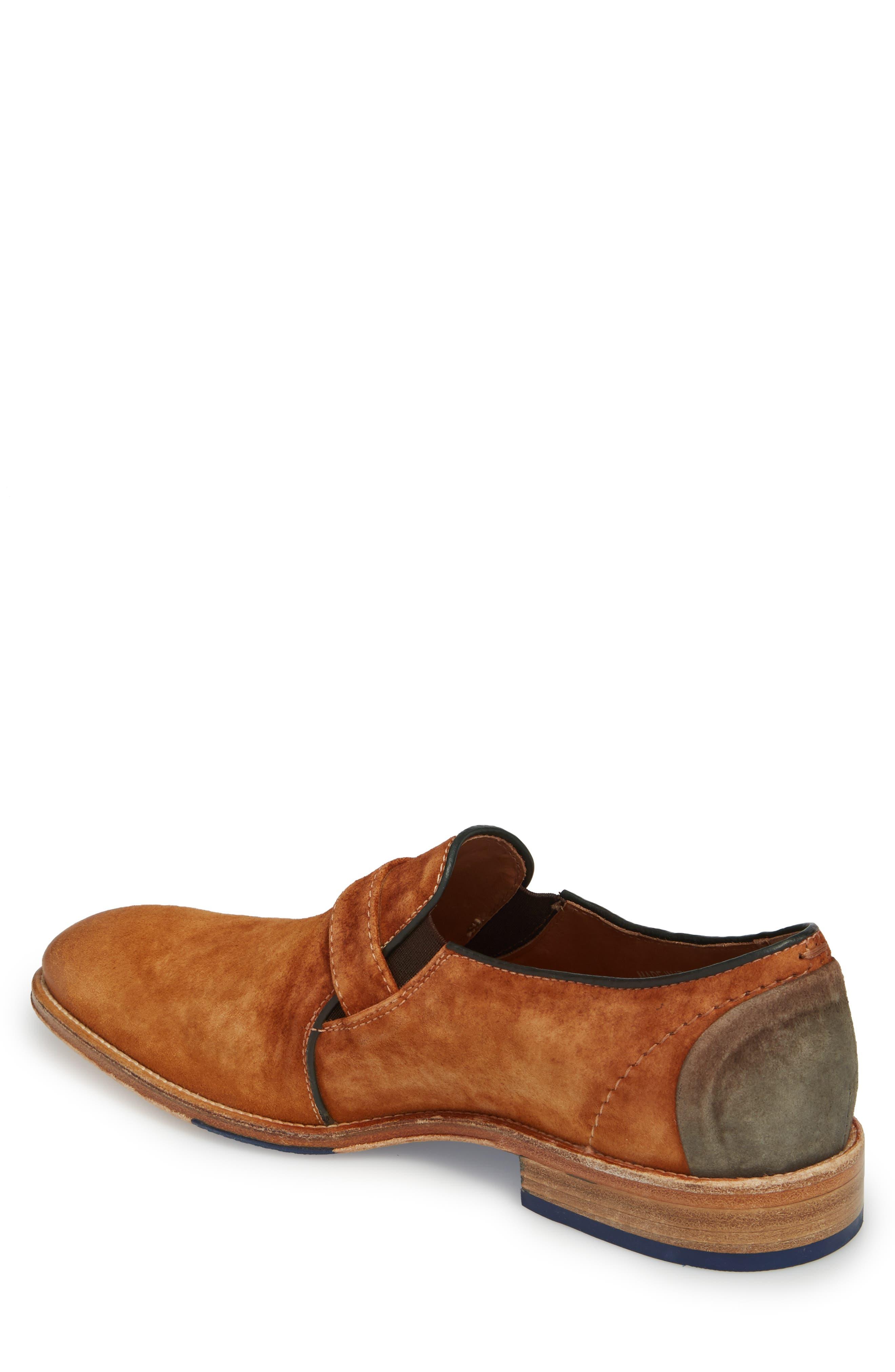 Alex Single Buckle Monk Shoe,                             Alternate thumbnail 2, color,