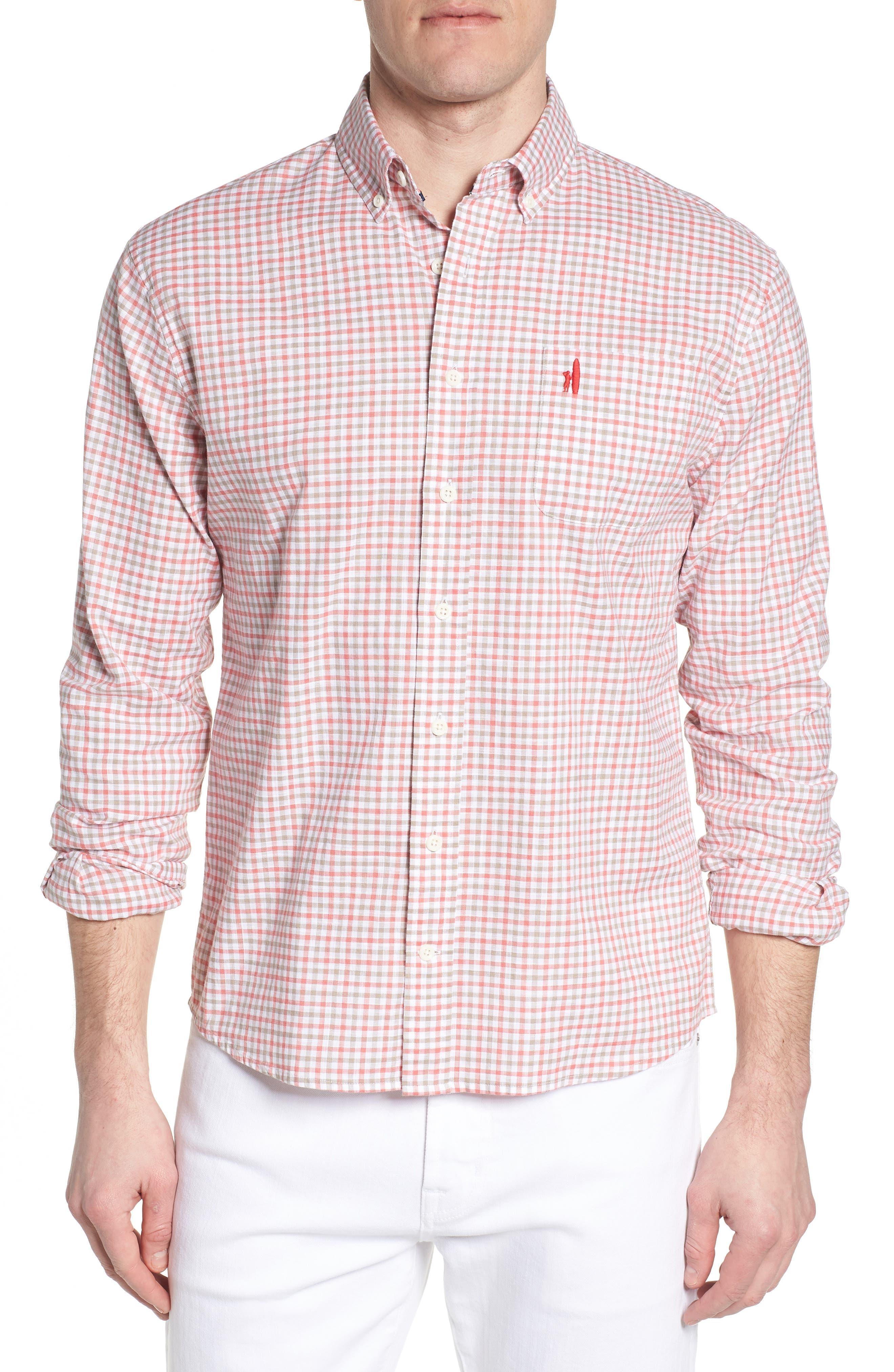 JOHNNIE-O Driscoll Regular Fit Sport Shirt, Main, color, 630