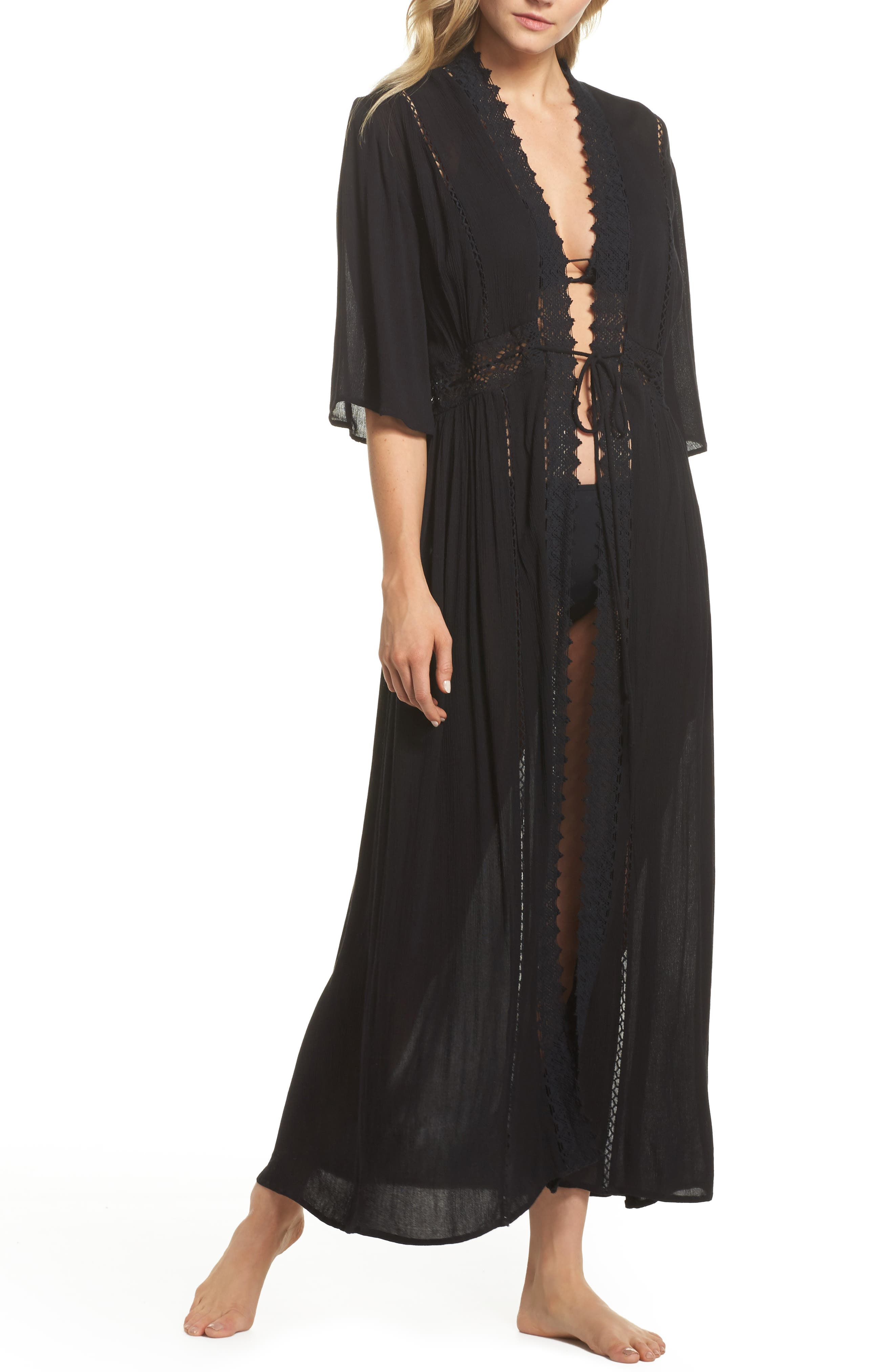 Cover-Up Duster Cardigan,                         Main,                         color, 001