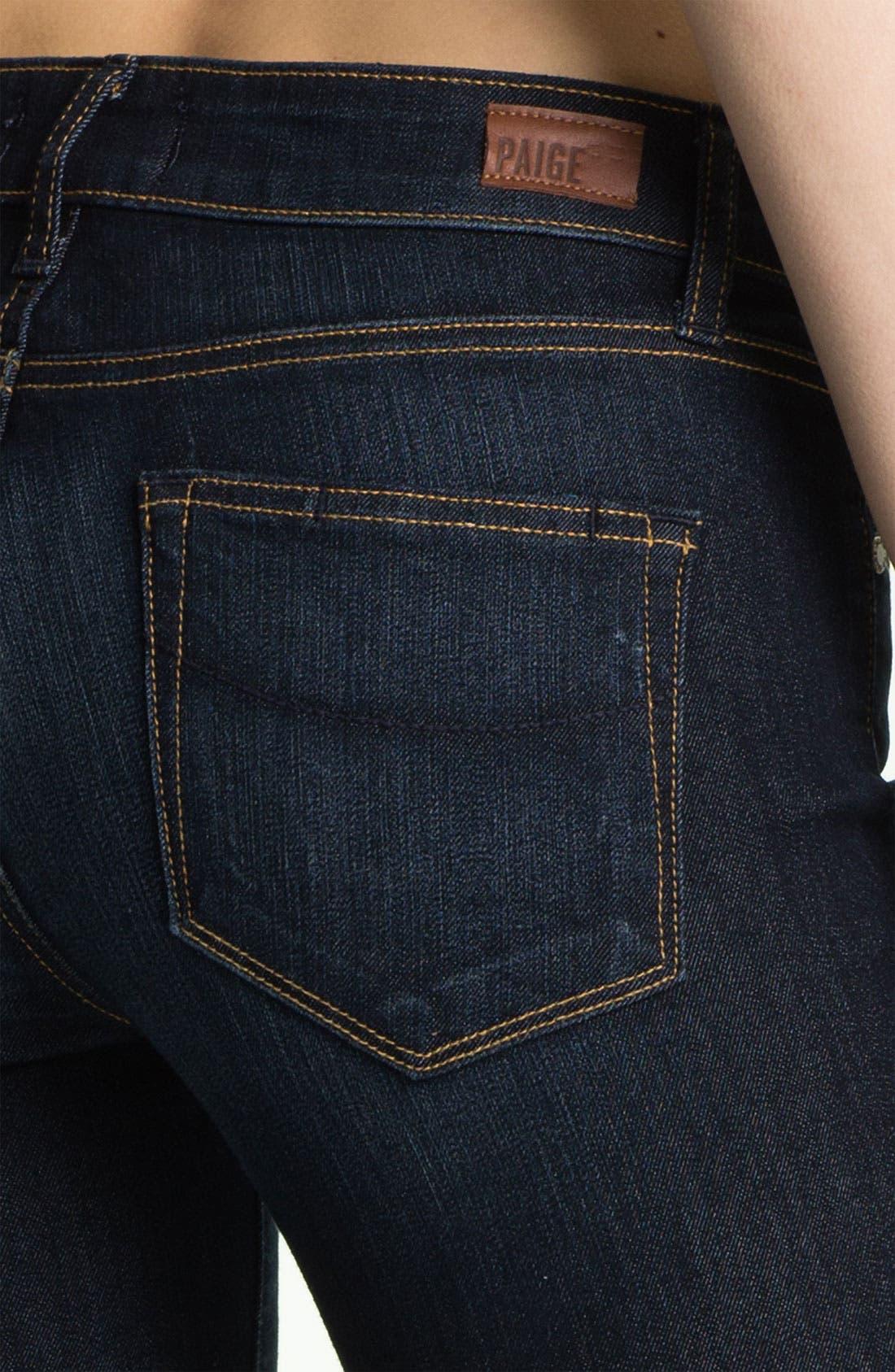 Denim 'Manhattan' Baby Bootcut Jeans,                             Alternate thumbnail 2, color,                             400