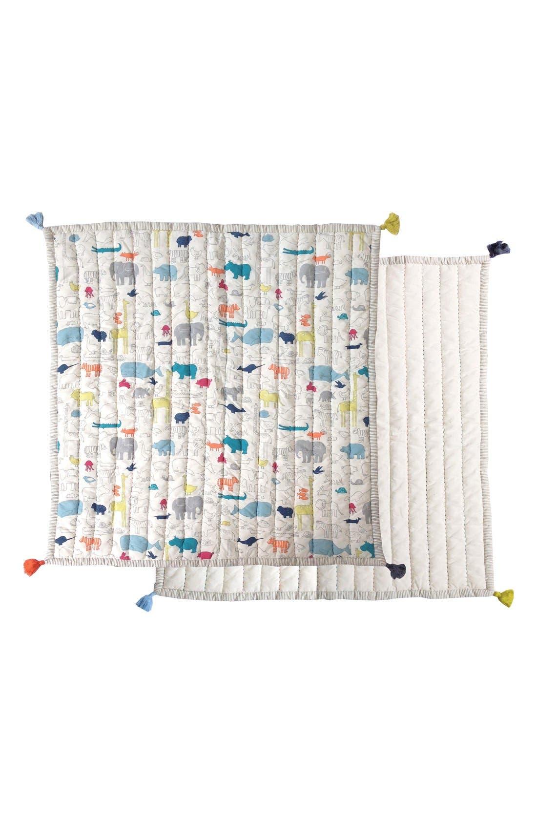 PEHR Noahs Ark Play Blanket, Main, color, NOAHS ARK