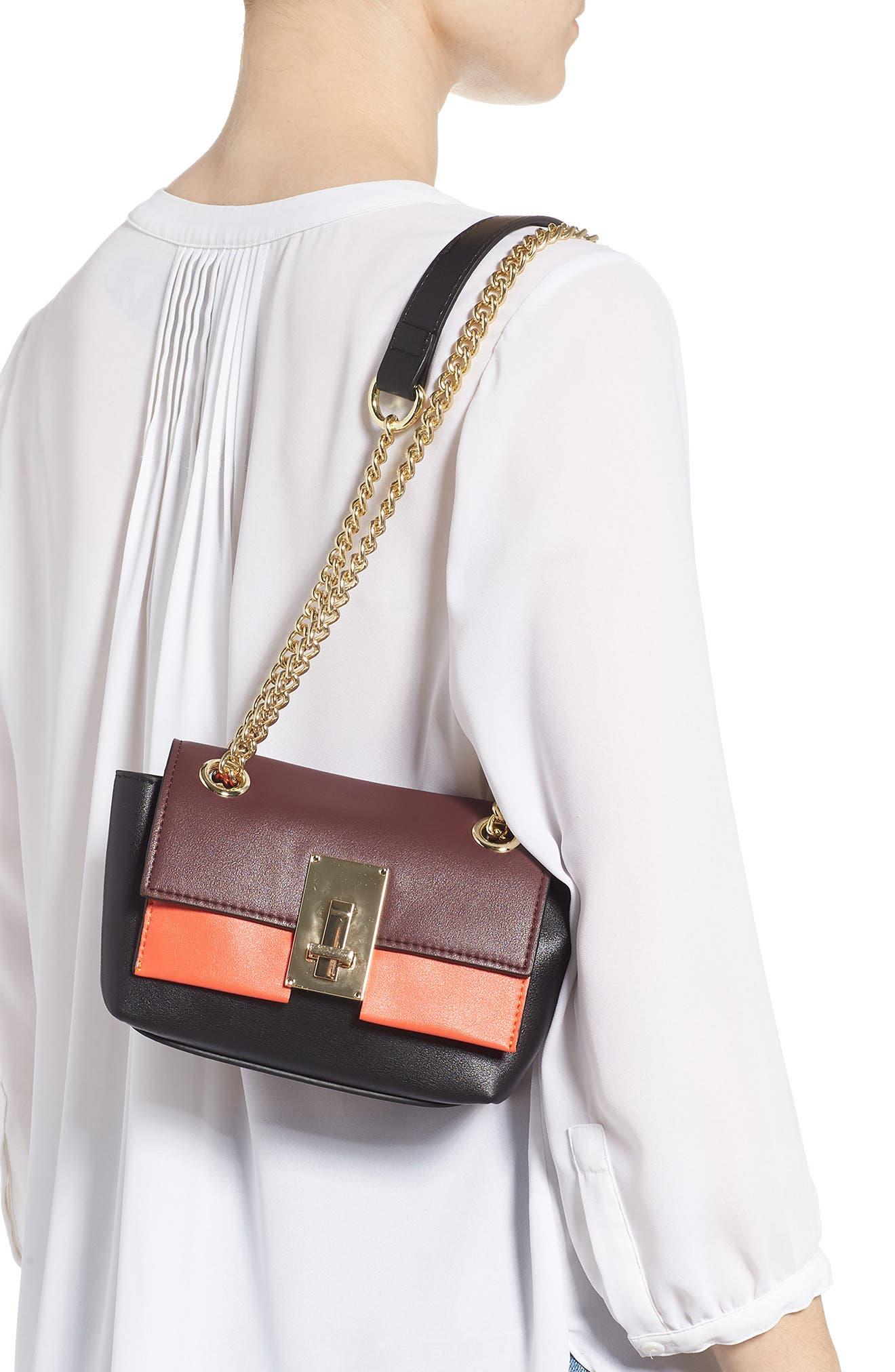 SR Squared by Sondra Roberts Colorblock Handbag,                             Alternate thumbnail 3, color,                             MULTI COMBO