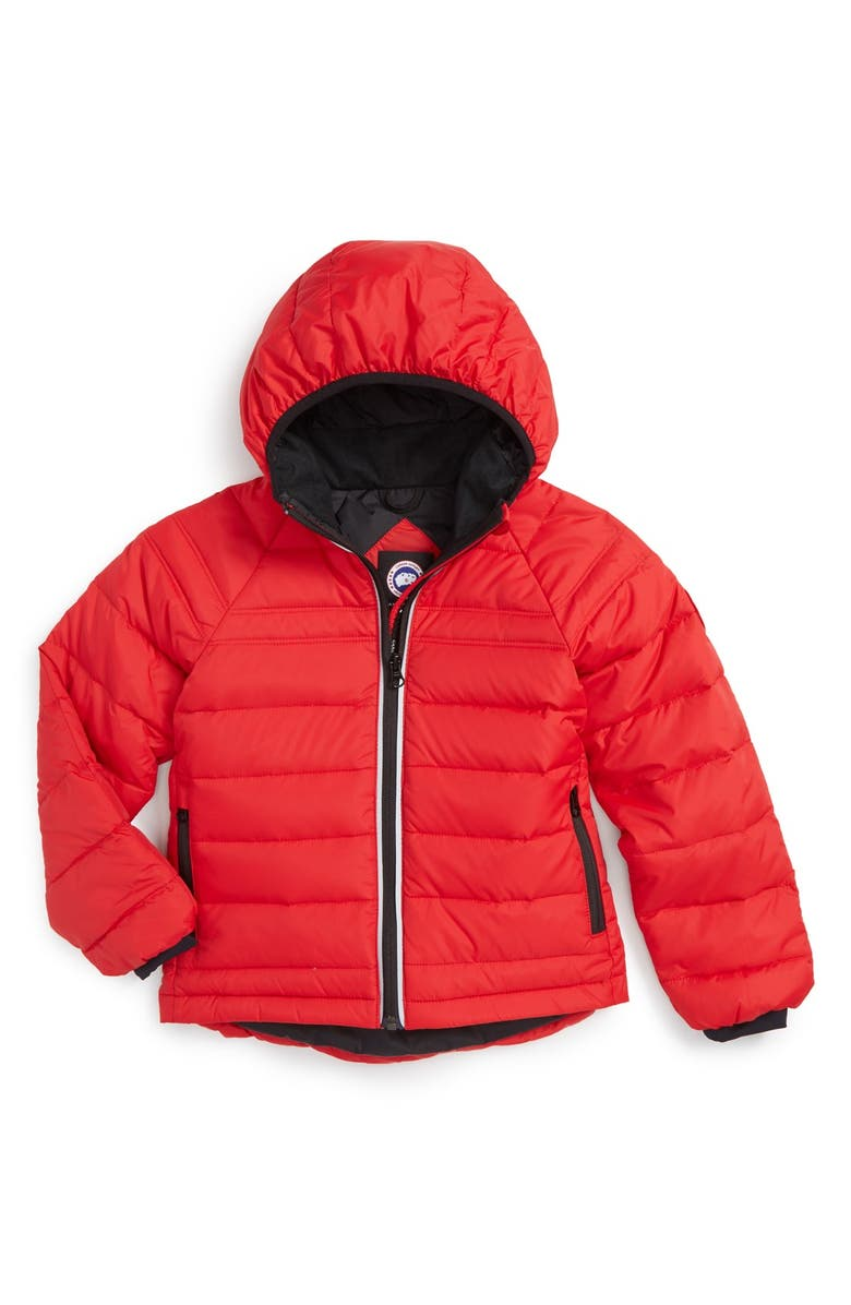 e3dac275c5cc Canada Goose  Bobcat  Water Resistant Hooded Jacket (Toddler Boys ...