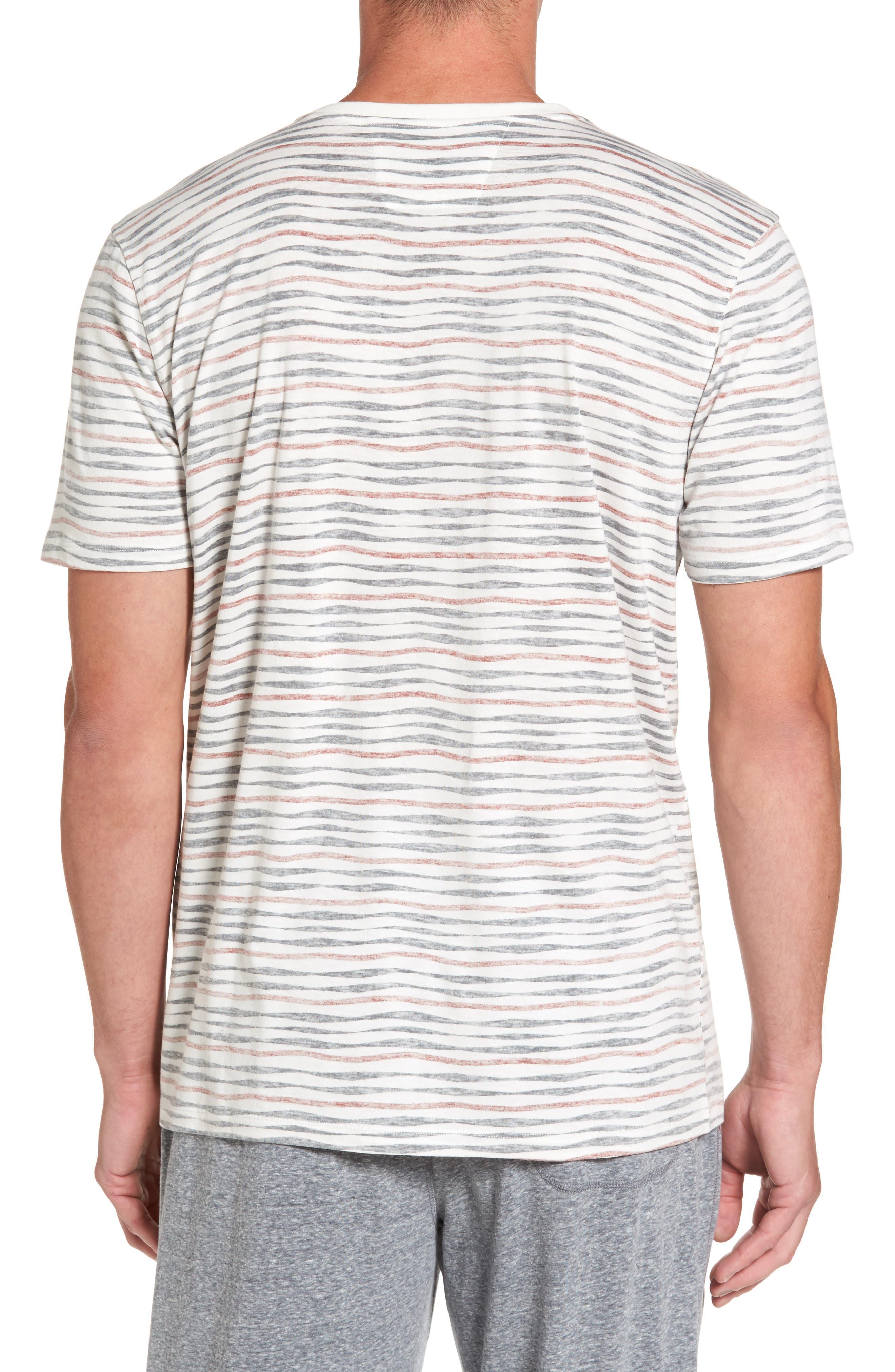 V-Neck T-Shirt,                             Alternate thumbnail 2, color,                             633