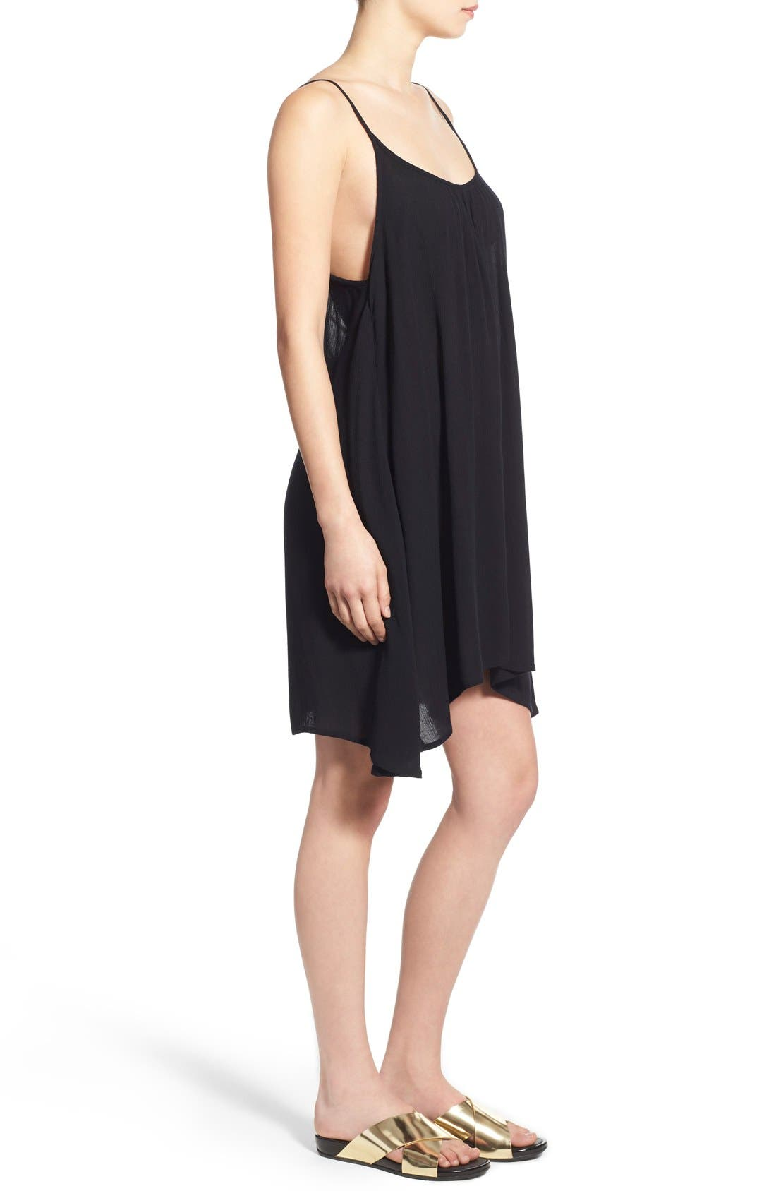'Windy' Scoop Neck Shift Dress,                             Alternate thumbnail 19, color,