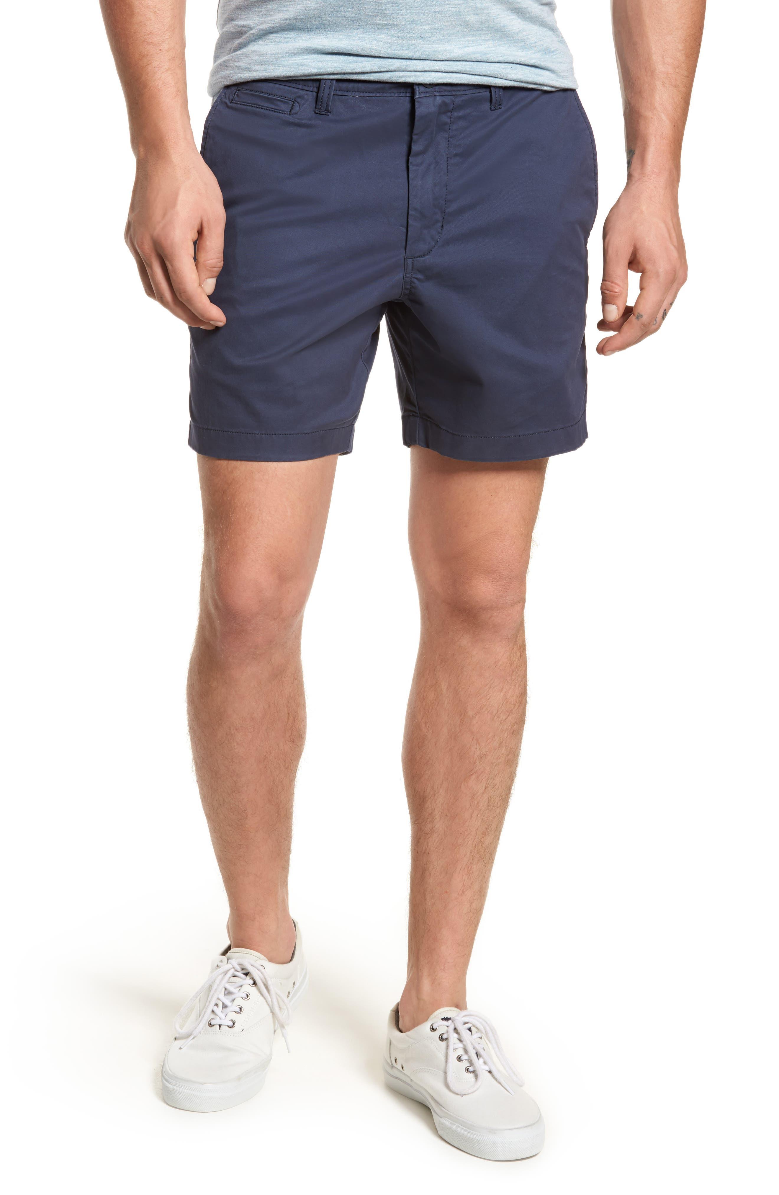 Ballard Slim Fit Stretch Chino 7-Inch Shorts,                             Main thumbnail 7, color,