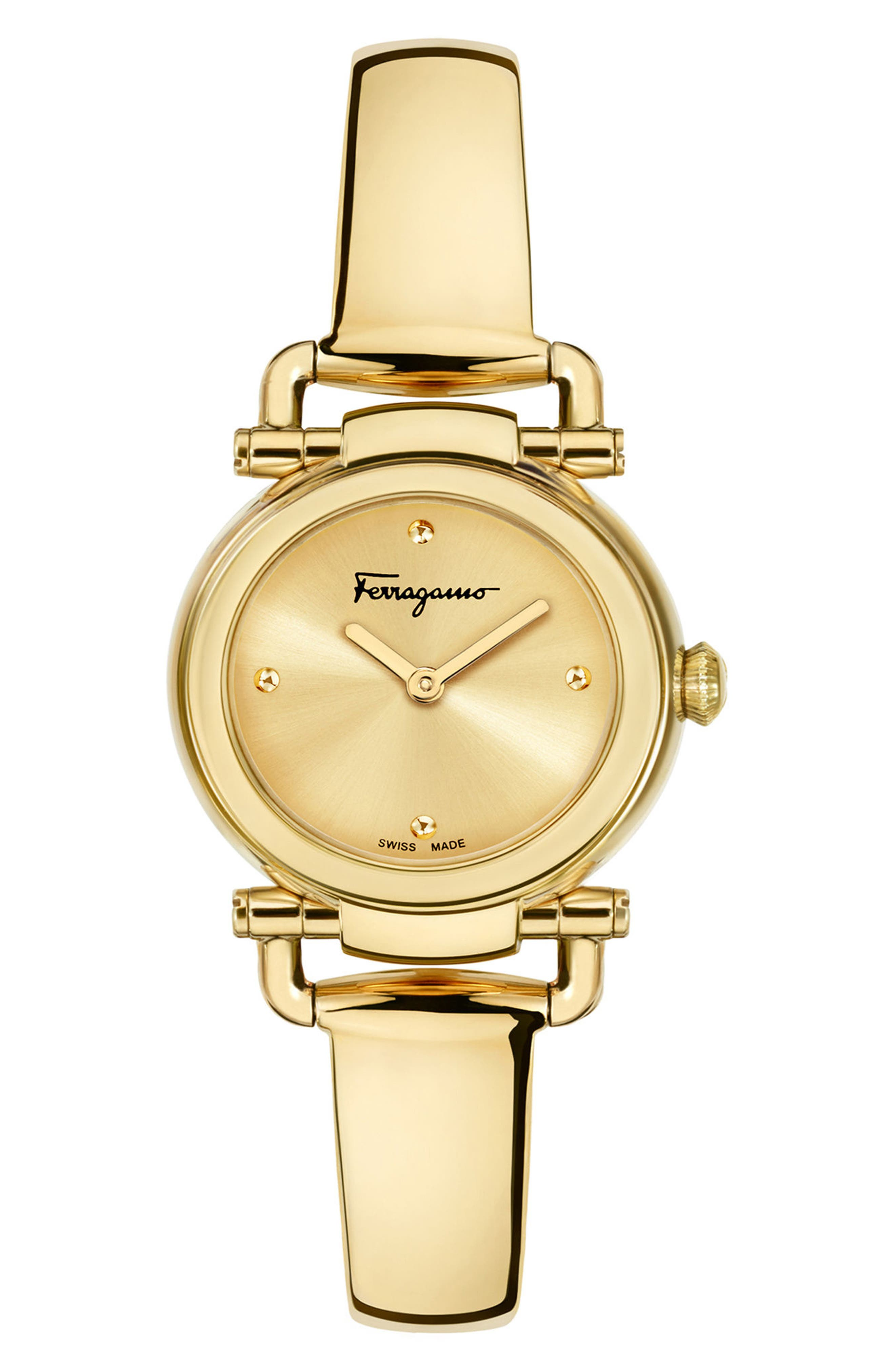 Gancino Casual Watch, 26mm,                         Main,                         color, GOLD
