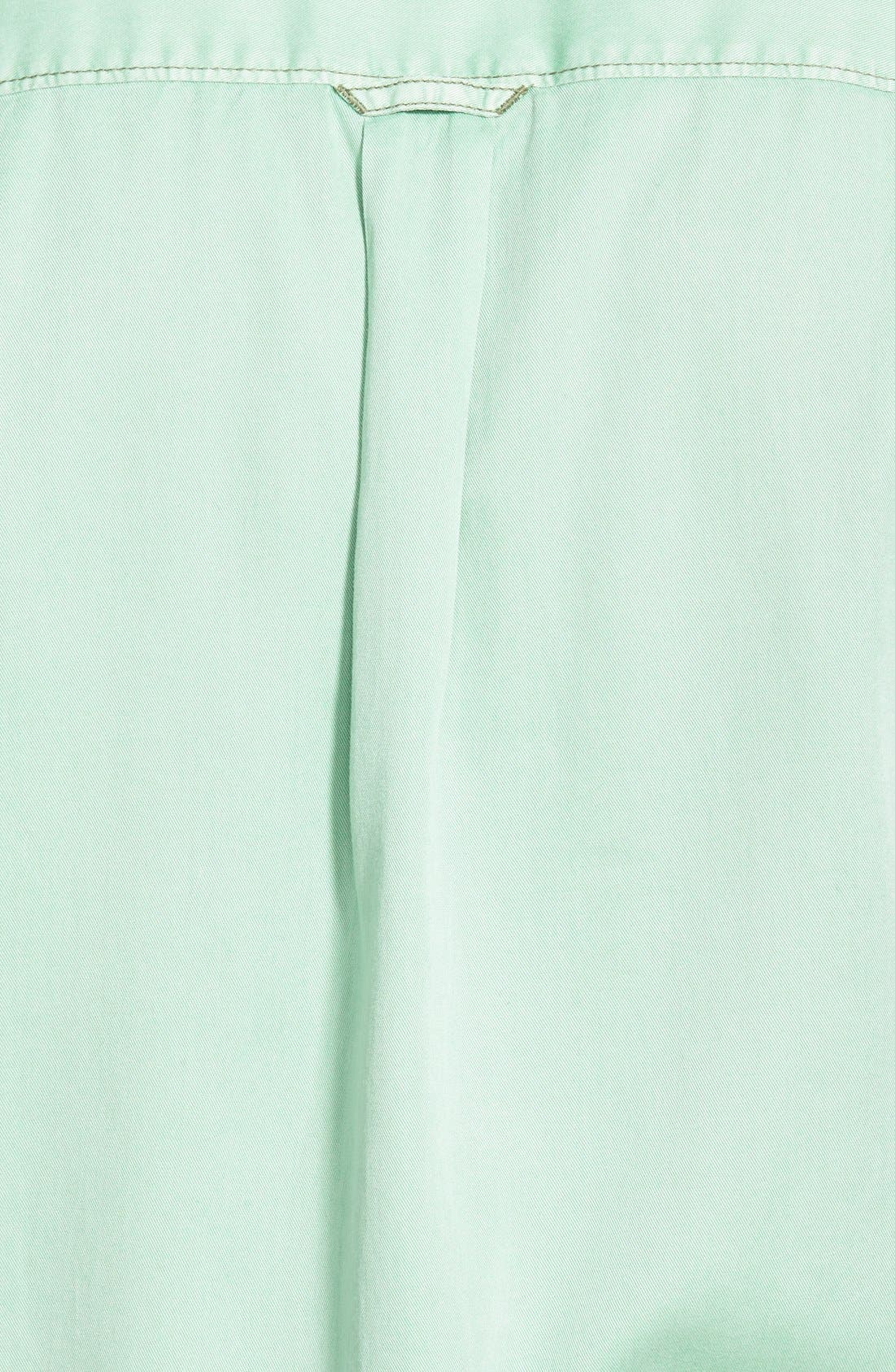 'New Twilly' Island Modern Fit Short Sleeve Twill Shirt,                             Alternate thumbnail 22, color,