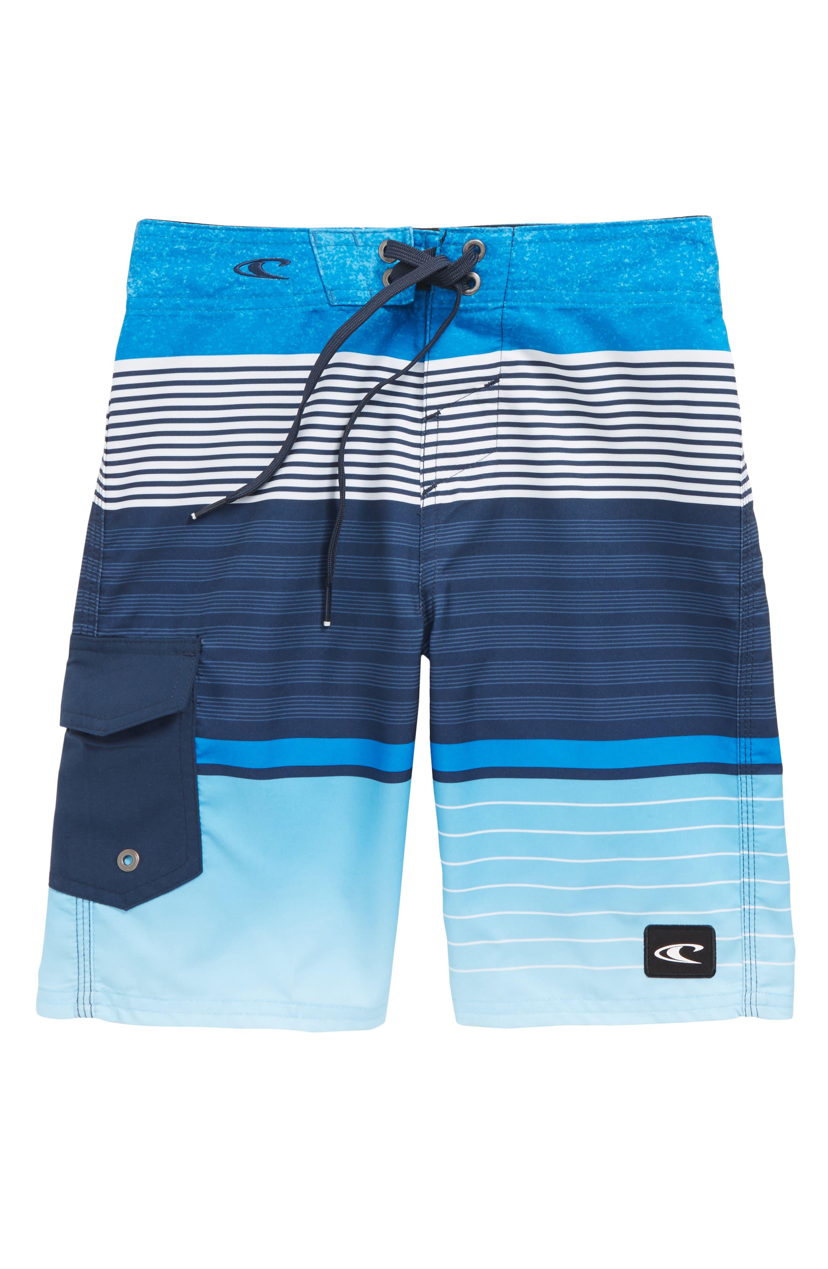 Lennox Stripe Board Shorts,                             Main thumbnail 2, color,