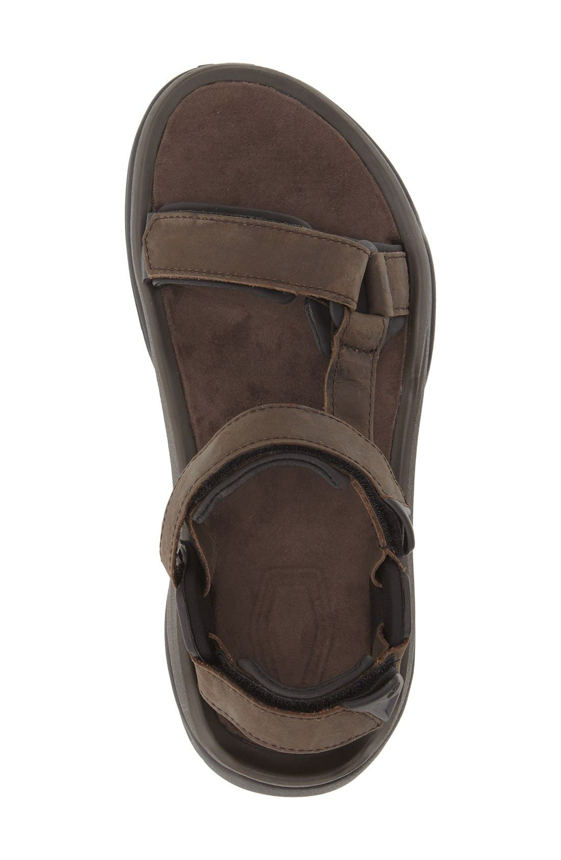 TEVA,                             'Terra Fi 4' Sport Sandal,                             Alternate thumbnail 3, color,                             TURKISH COFFEE