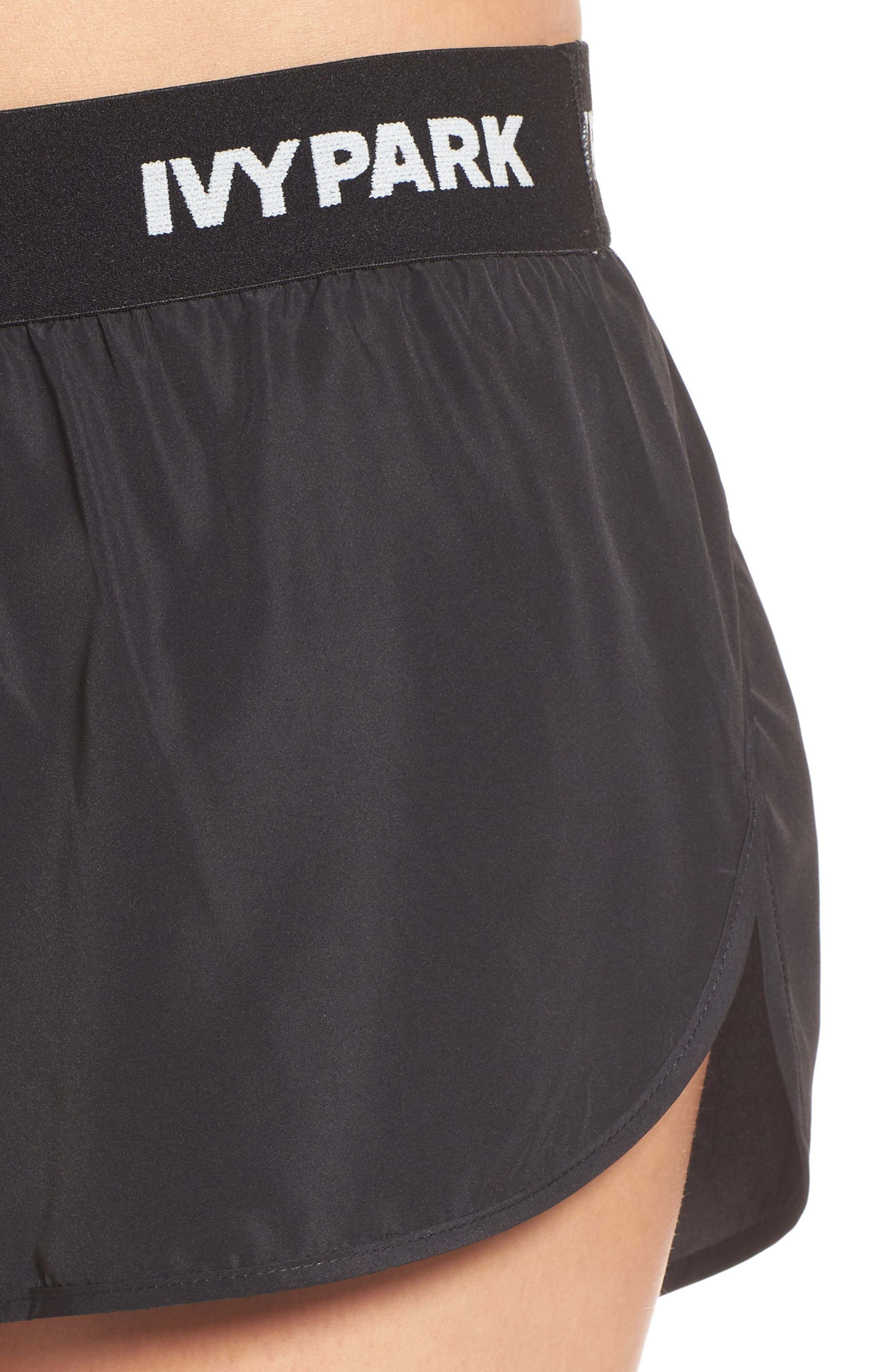 Logo Elastic Waist Running Shorts,                             Alternate thumbnail 14, color,