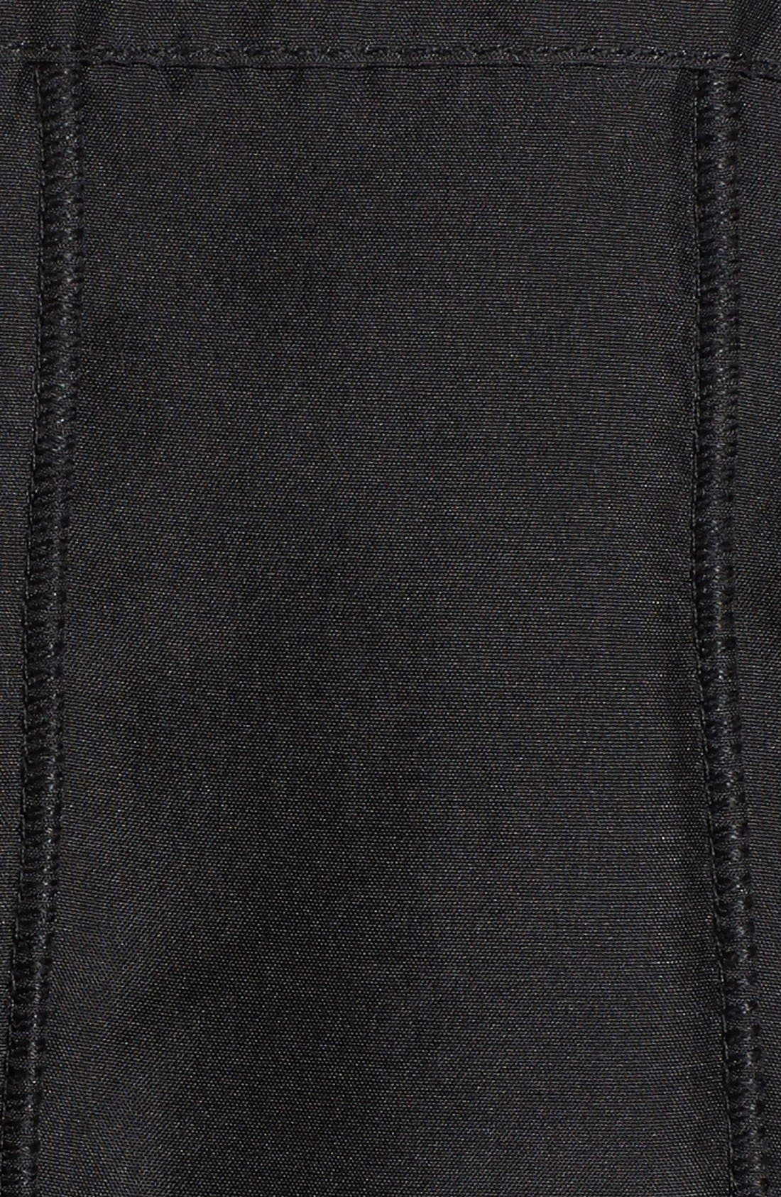 GeorgeSimonton Reversible Silk & Genuine Fox Fur Topper,                             Alternate thumbnail 23, color,