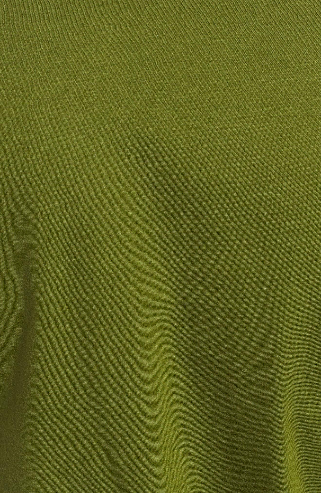 PATAGONIA,                             Oily Olas Slim Fit Organic Cotton T-Shirt,                             Alternate thumbnail 5, color,                             300