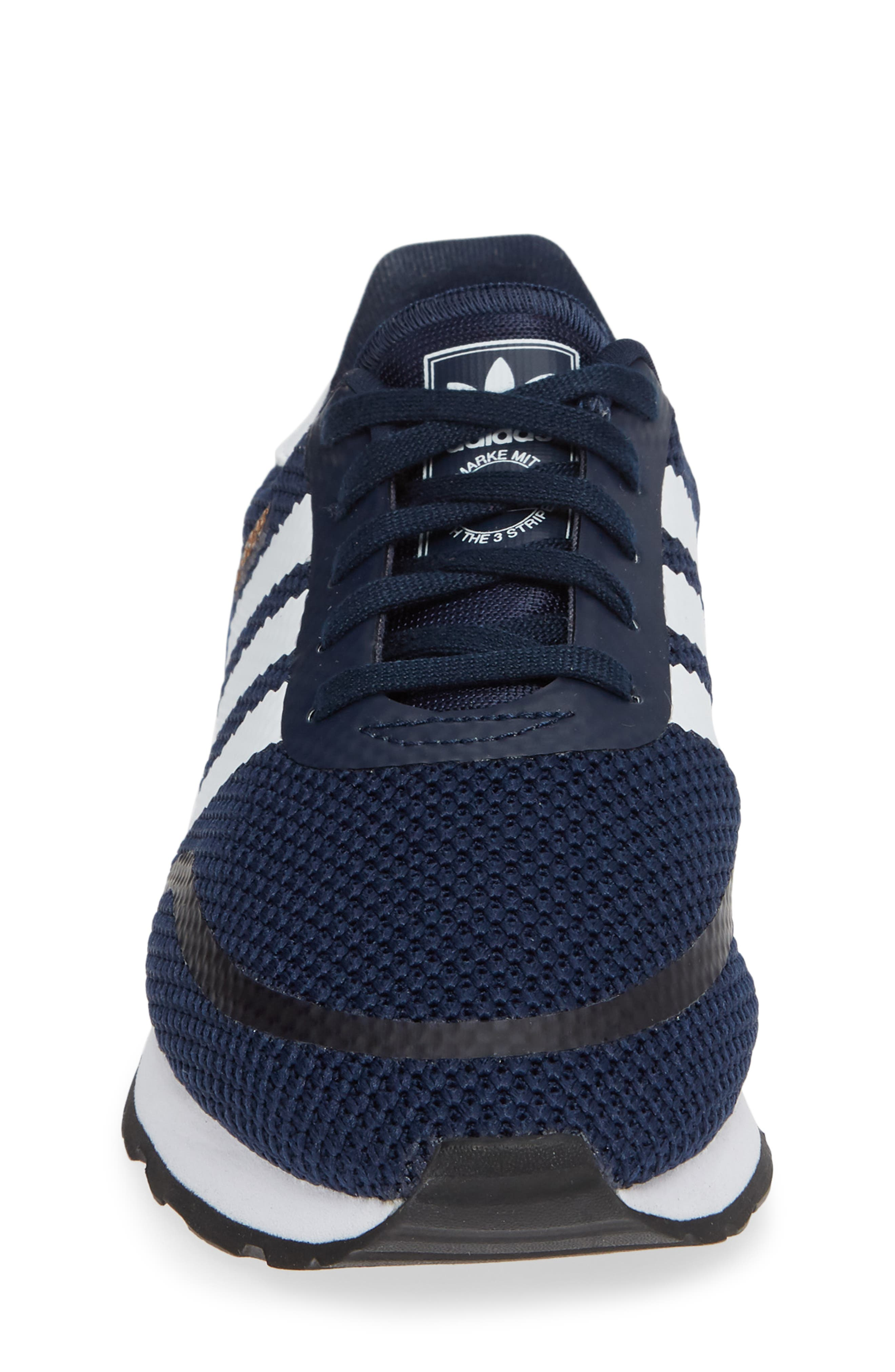N-5923 Classic Sneaker,                             Alternate thumbnail 4, color,                             COLLEGIATE NAVY / WHITE