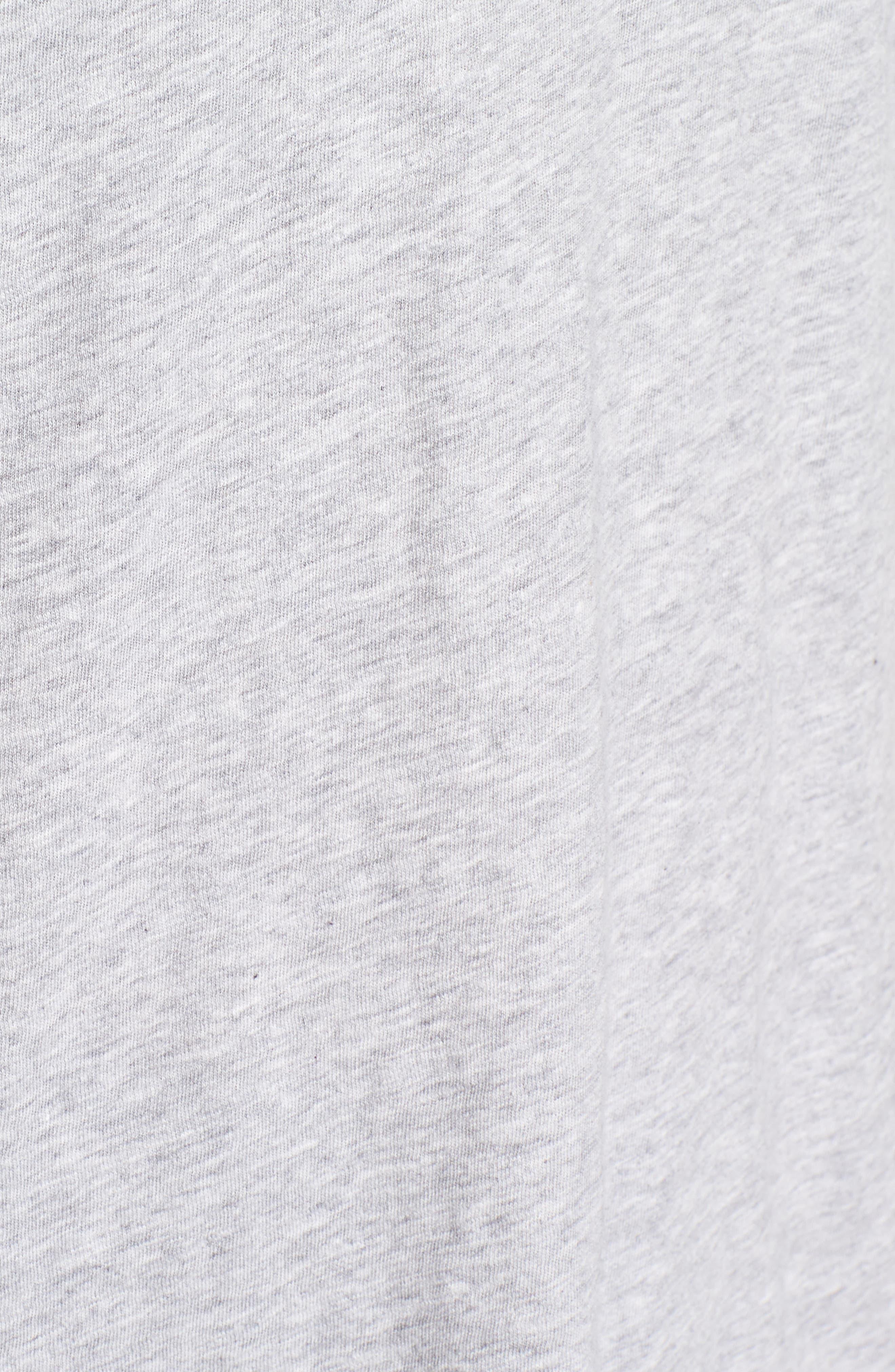 Organic Cotton V-Neck Tee,                             Alternate thumbnail 10, color,