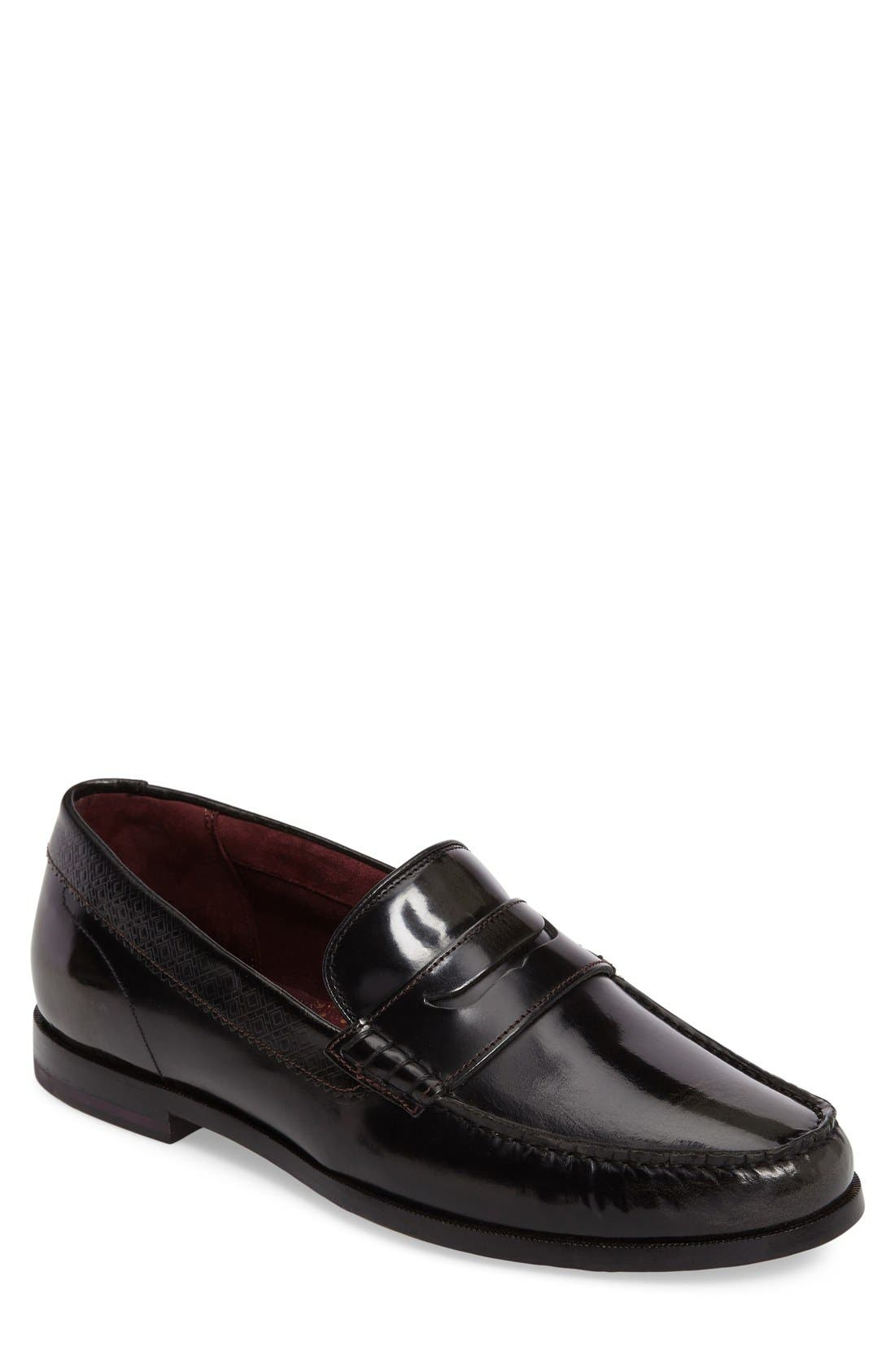 Rommeo Penny Loafer,                             Alternate thumbnail 8, color,                             028