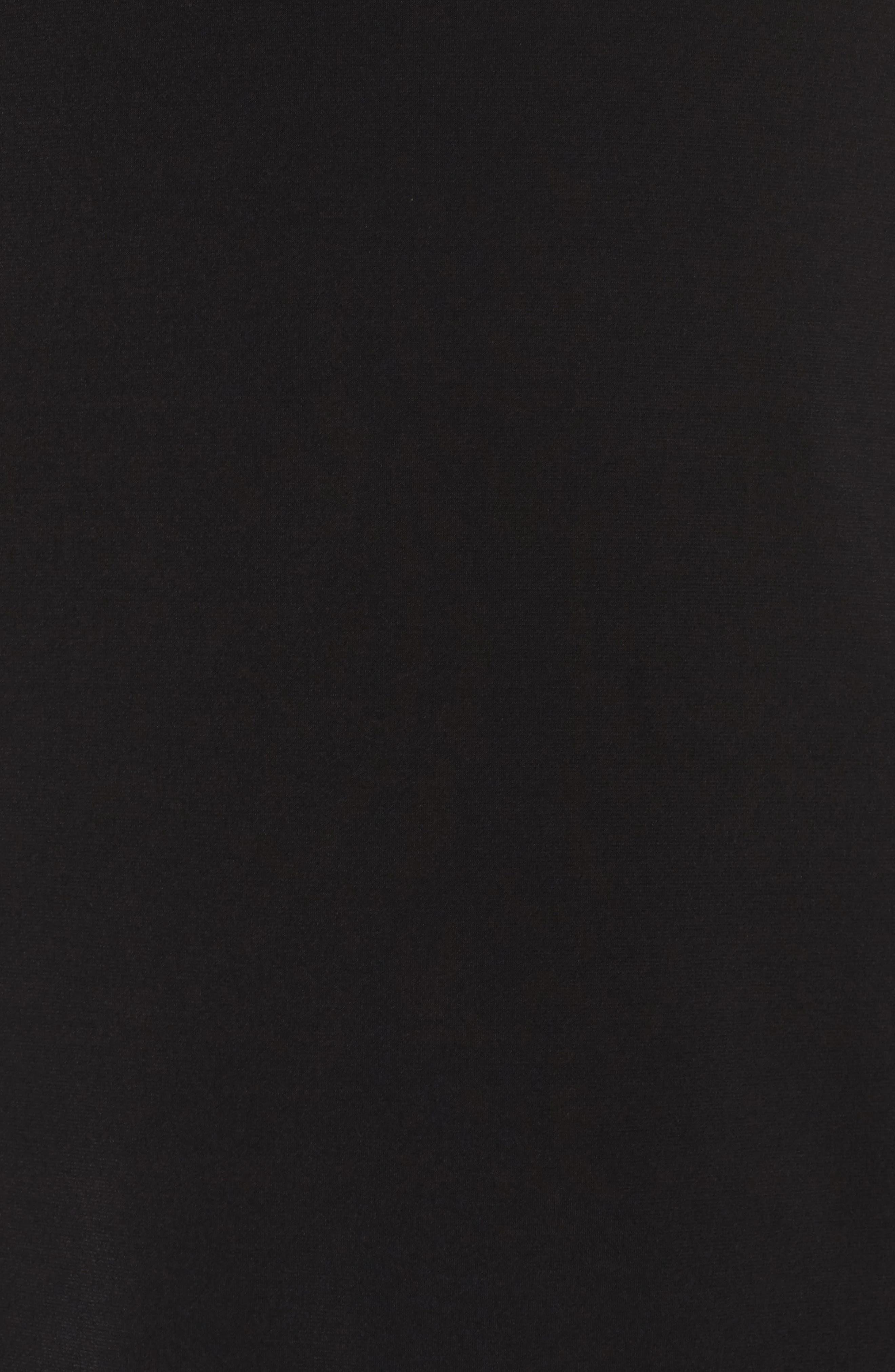 Lace Yoke Top,                             Alternate thumbnail 5, color,                             001