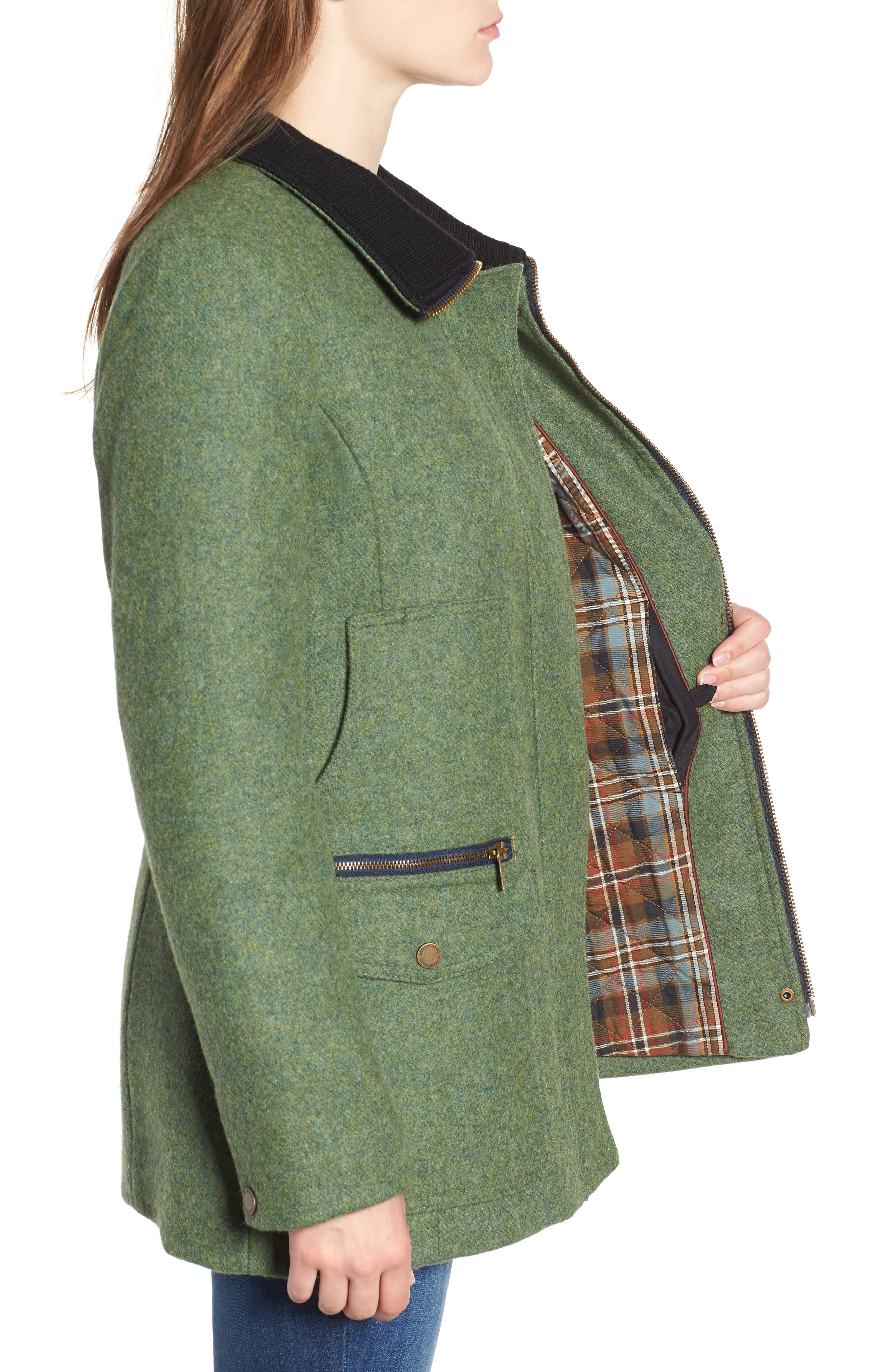Timberline Field Coat,                             Alternate thumbnail 3, color,                             MOSS